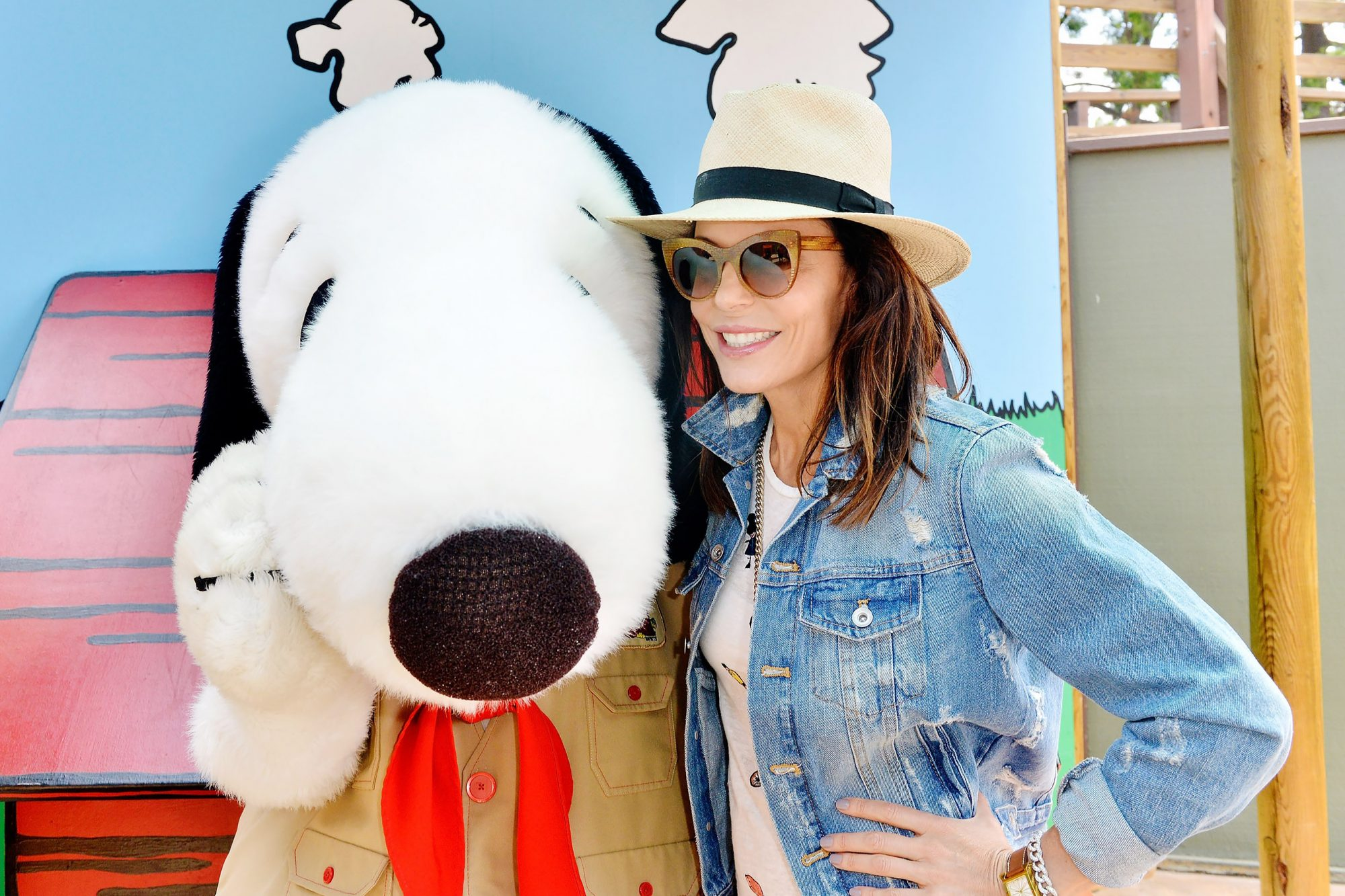 Bethenny Frankel Visits Knott's Berry Farm