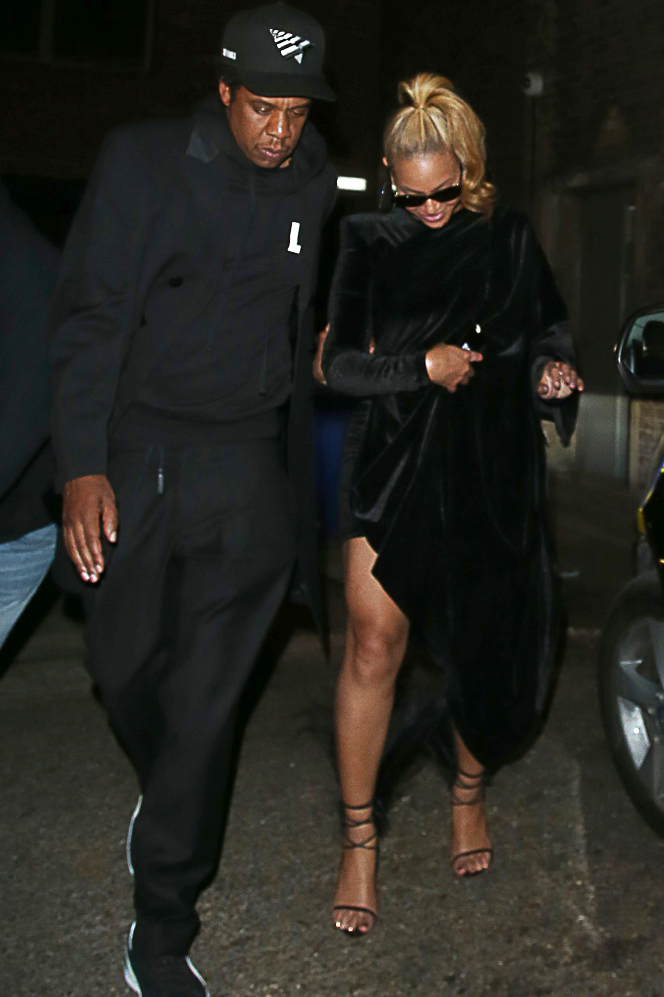 Beyonce And Jay Z Leaving The Arts Club At 3am In London