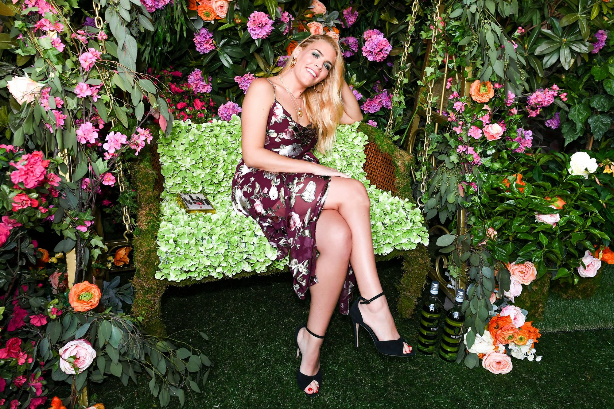 Alice and Olivia x Ecco Domani designer label launch, New York, USA - 07 Jun 2018