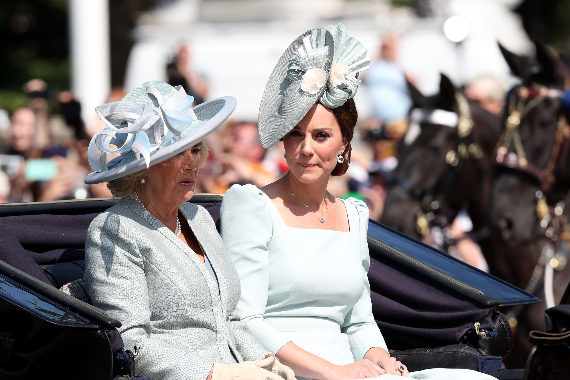 HM The Queen Attends Trooping The Colour