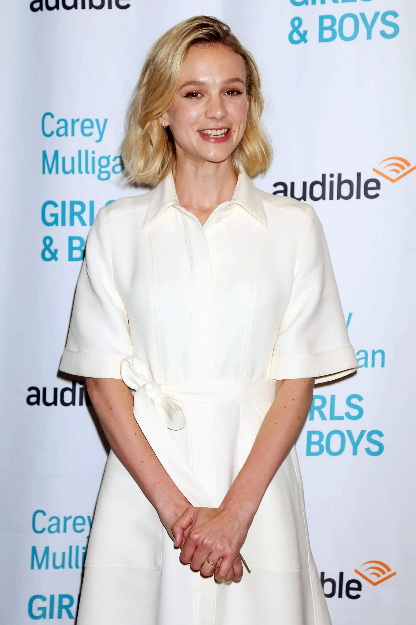 Carey Mulligan Attends a Photocall for her new One-Woman Play Girls & Boys