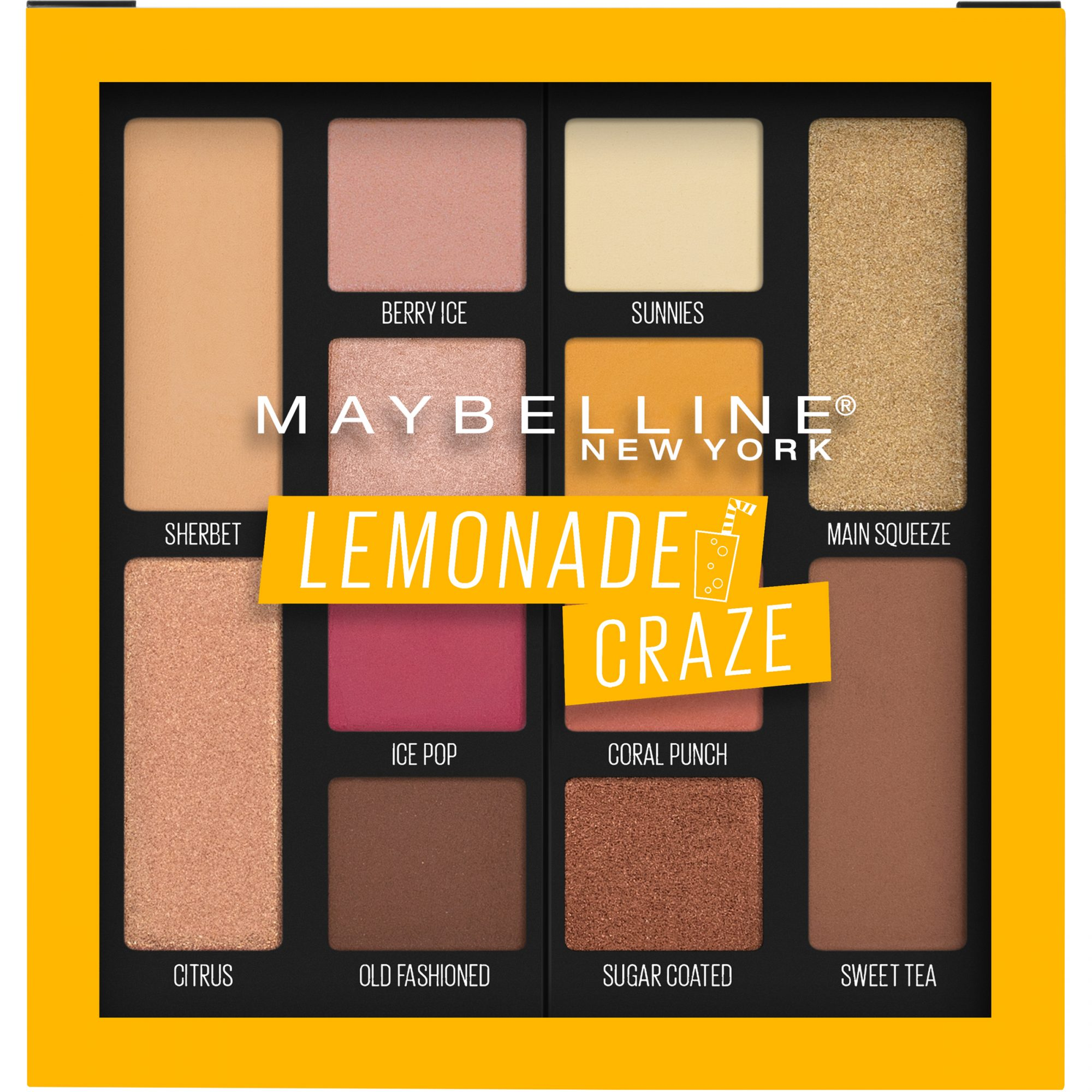 MAYBELLINE EYE SHADOW PALETTE