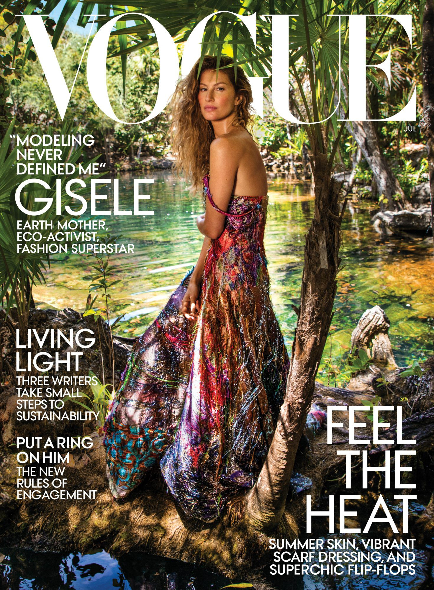 Gisele July Cover