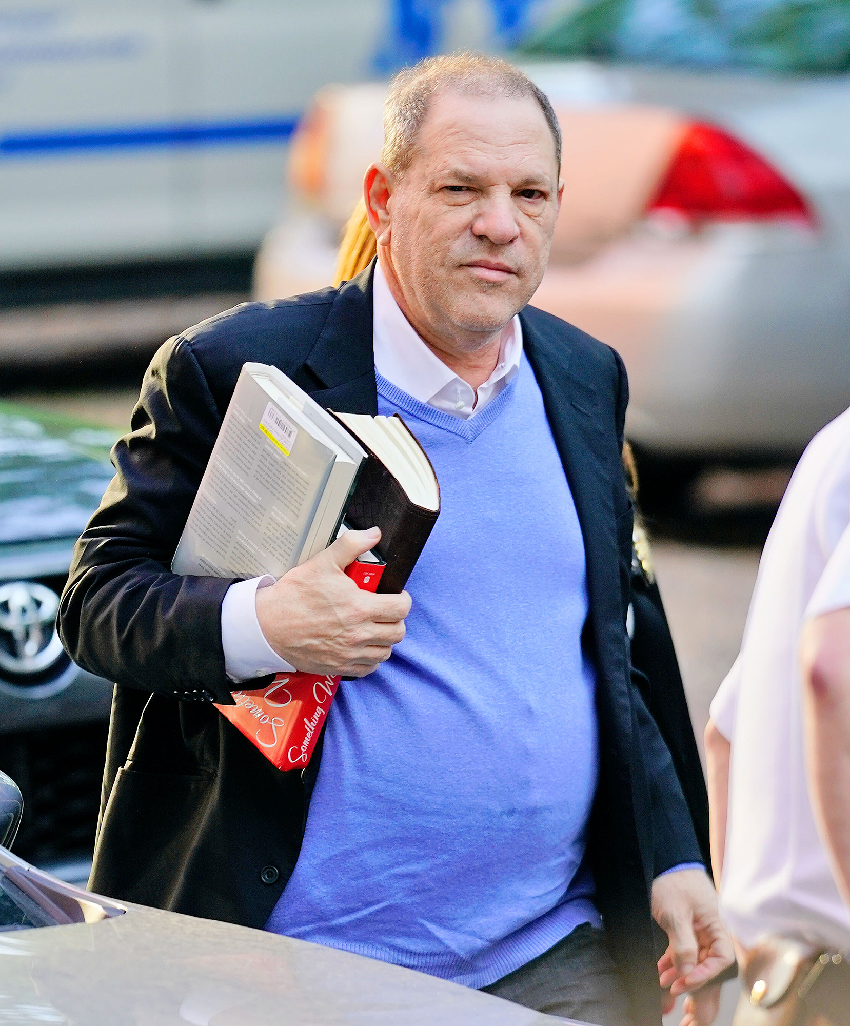 Harvey Weinstein arrives at First Precinct in New York to turn himself in