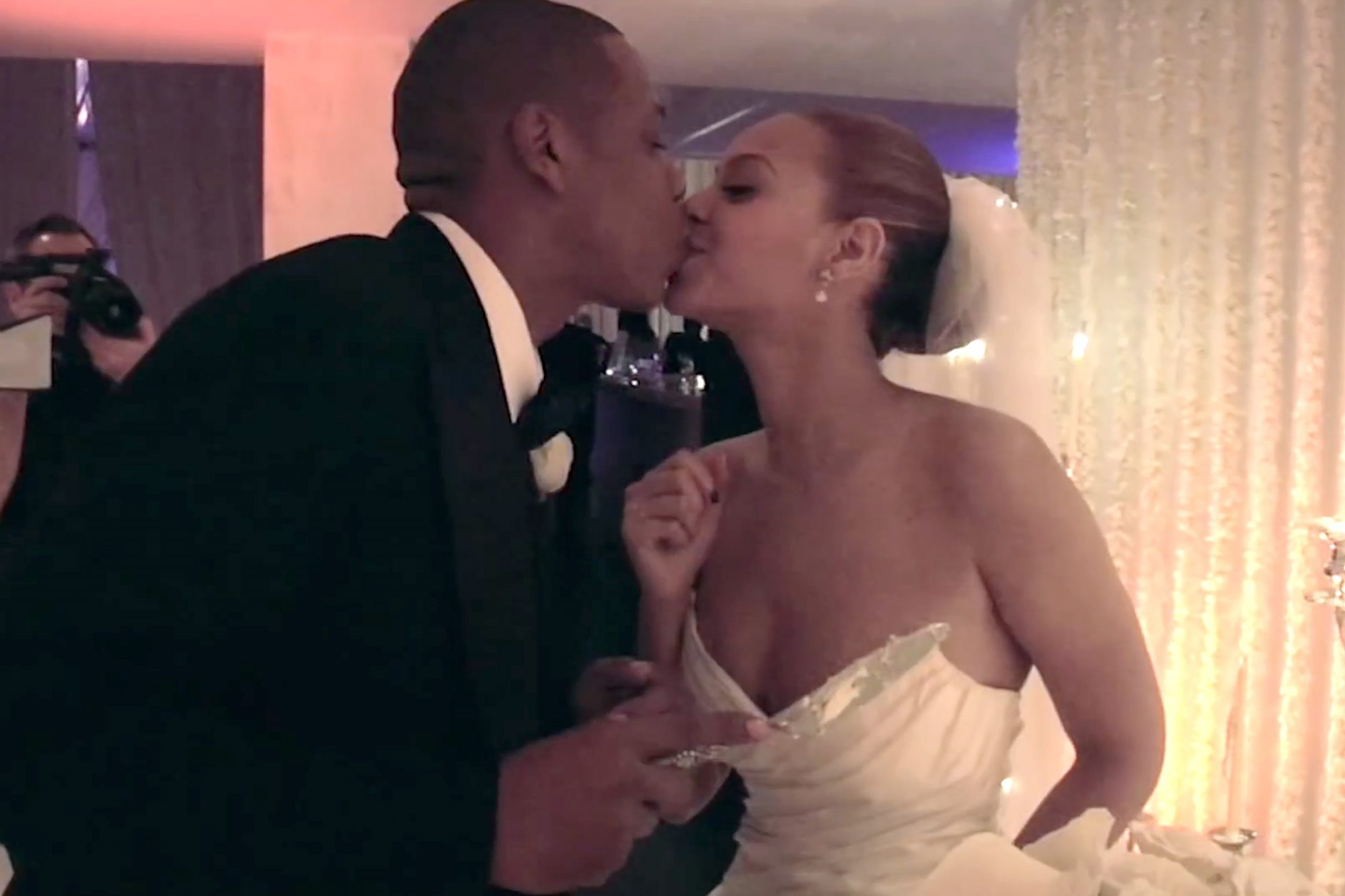Jay-Z and Beyonce Wedding https://www.youtube.com/watch?v=gM89Q5Eng_M