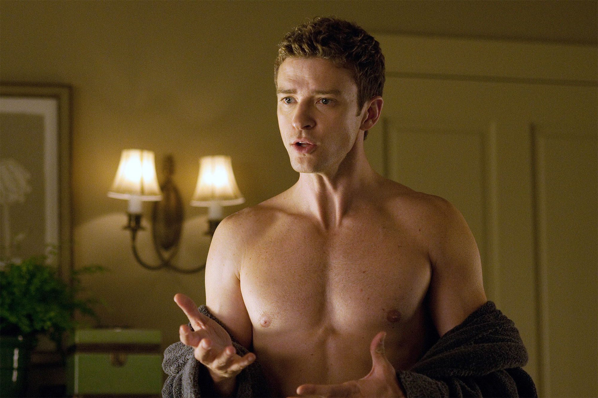 FRIENDS WITH BENEFITS, Justin Timberlake, 2011. ph: Glen Wilson/©Screen Gems/courtesy Everett Collec