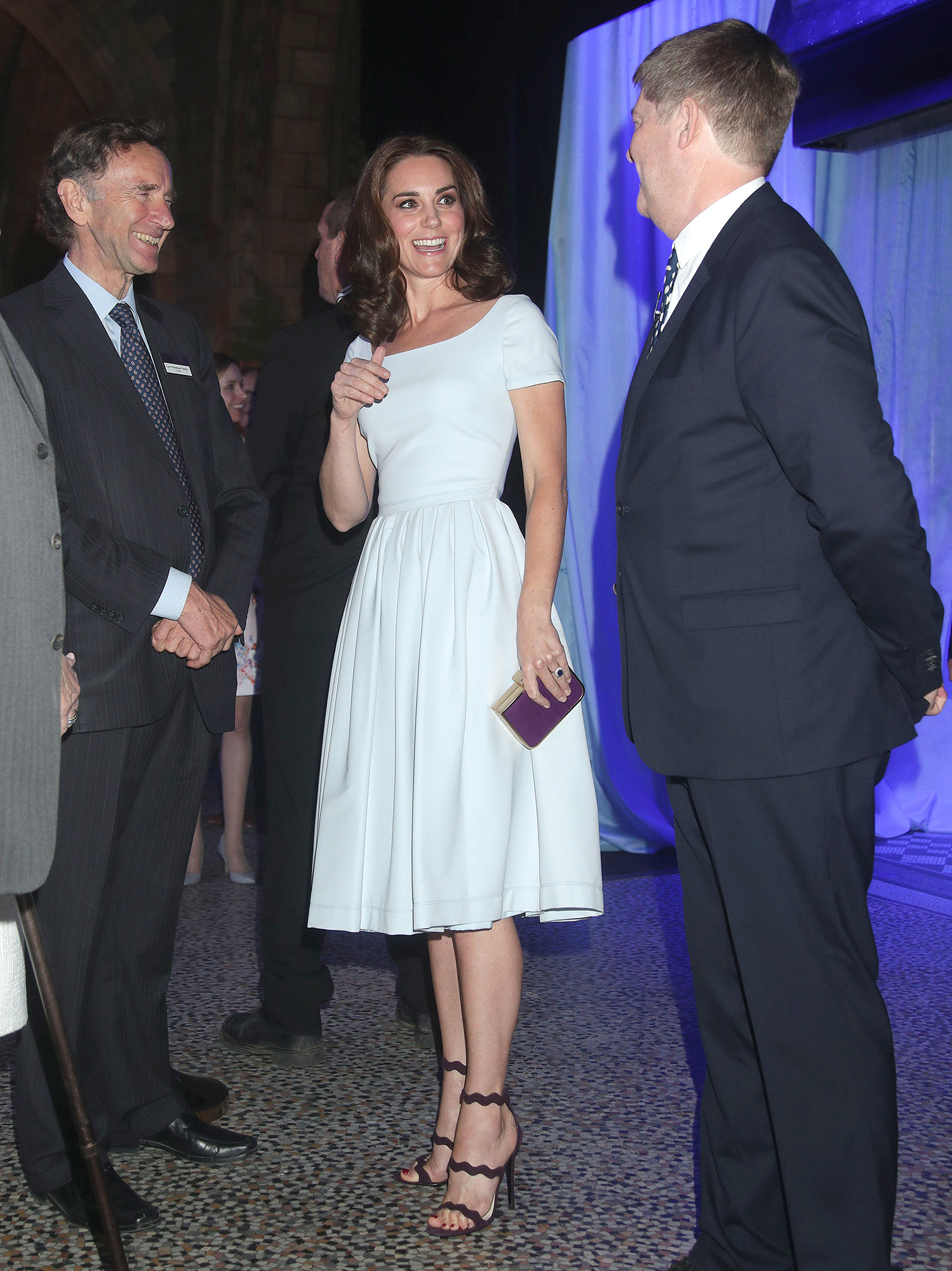Catherine, Duchess of Cambridge at the Reopening of Hintze Hall at the Natural History Museum in London