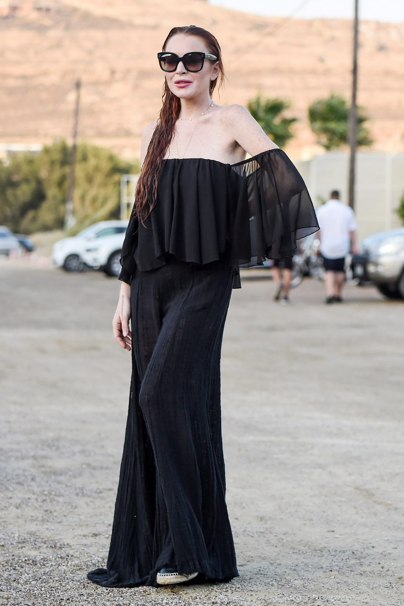 EXCLUSIVE: Lindsay Lohan Spotted In Mykonos While On Holiday In Greece **no mail online**