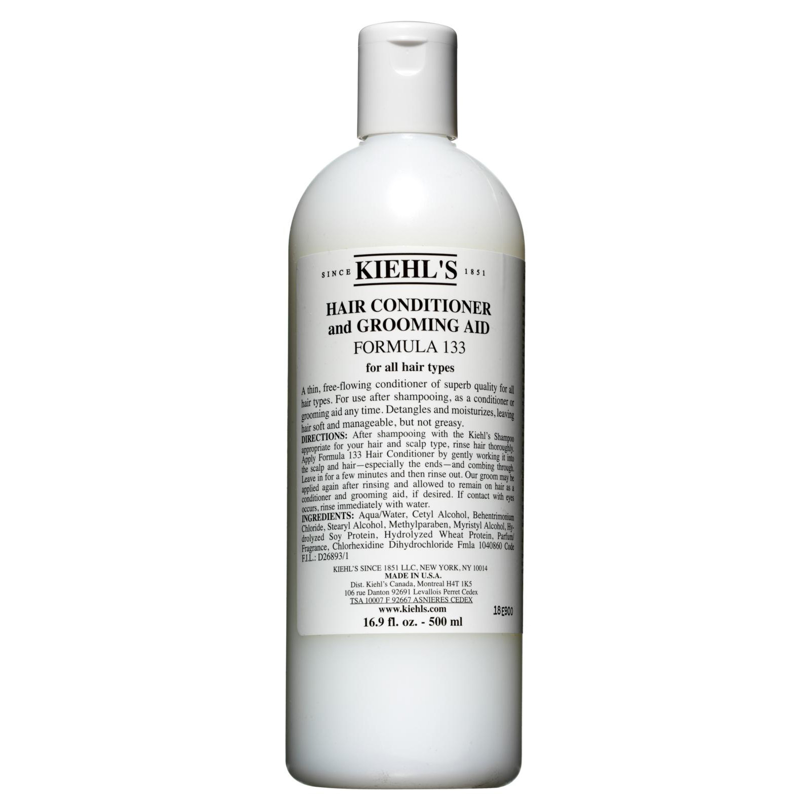 KIEHLS CONDITIONER AND GROOMING AID FORMULA