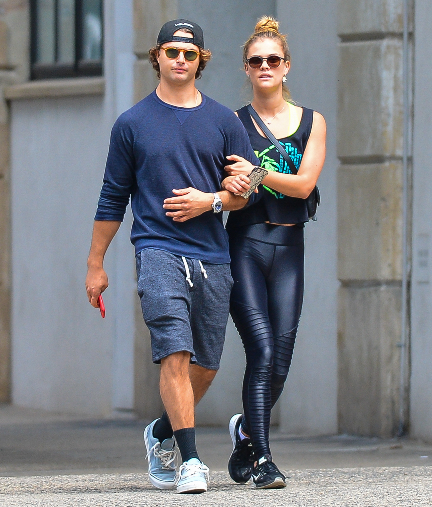 EXCLUSIVE: Nina Agdal Walks Arm in Arm with Boyfriend Jack Brinkley-Cook in New York City