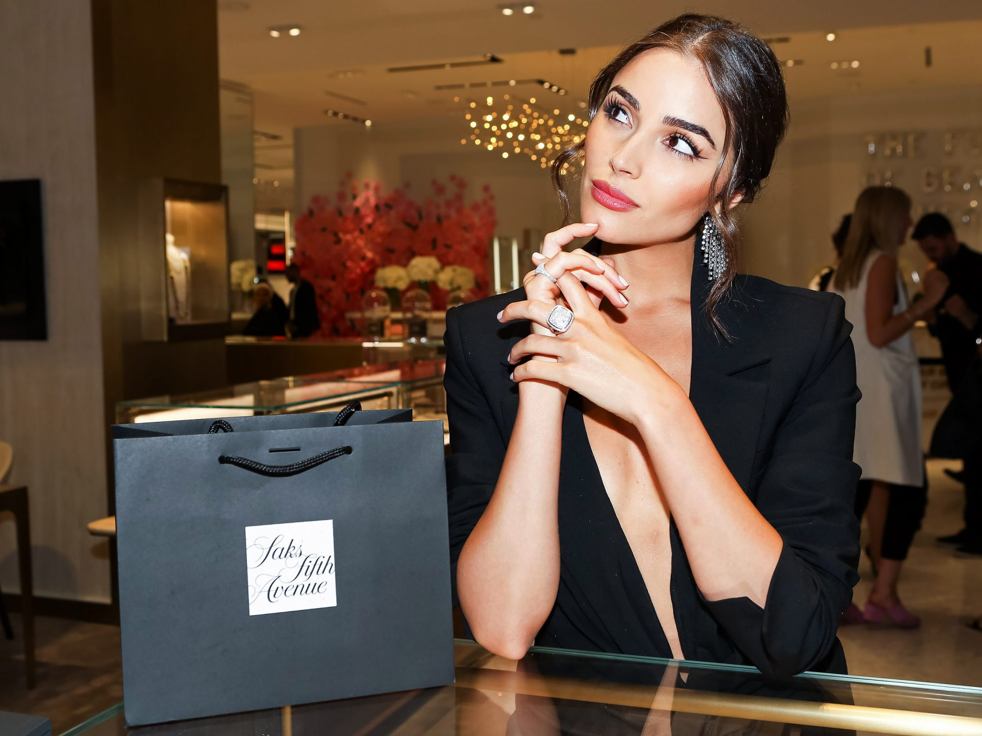 Saks Fifth Avenue x Town and Country Magazine party, New York, USA - 05 Jun 2018