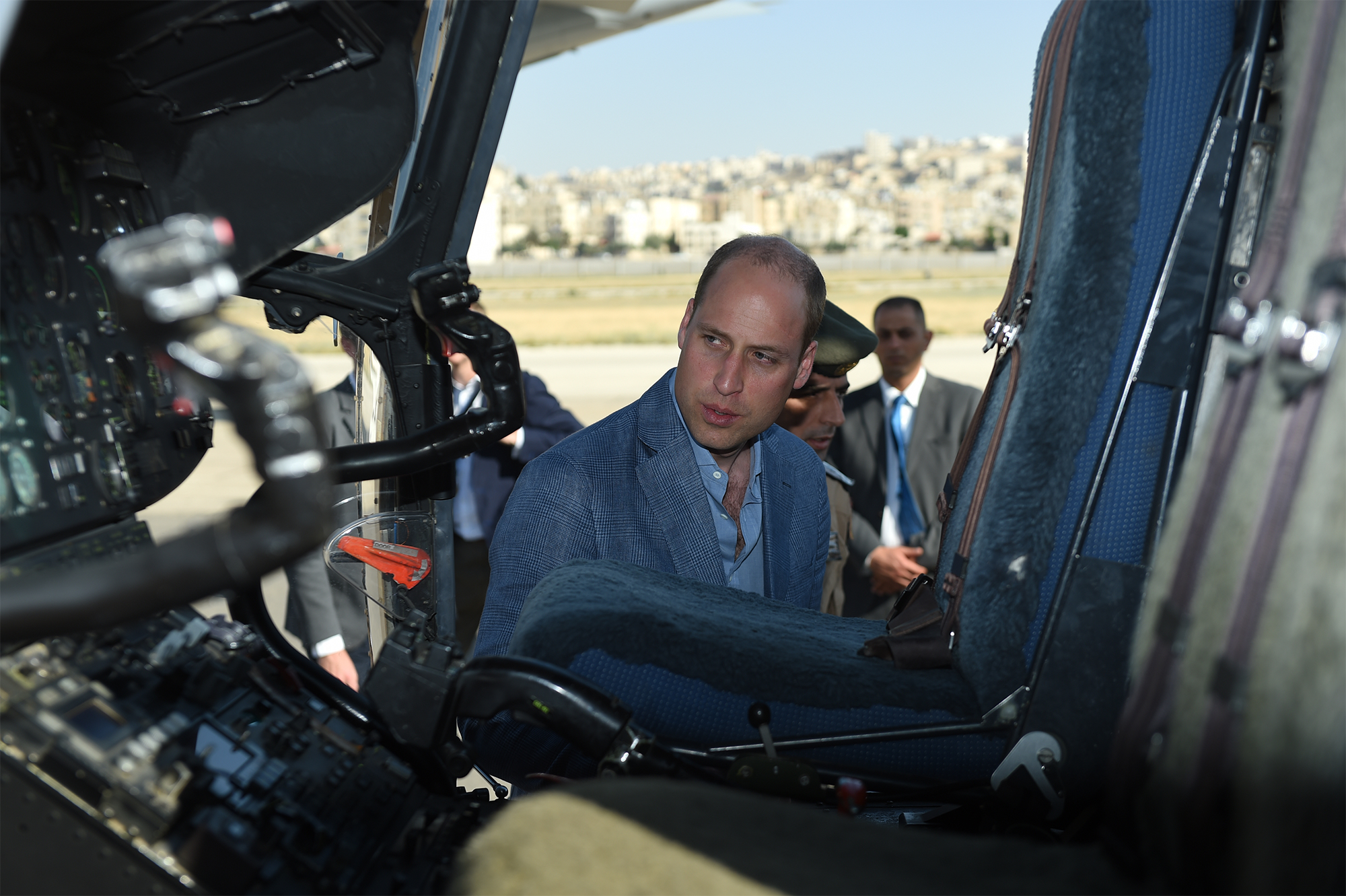 The Duke Of Cambridge Visits Jordan, Israel And The Occupied Palestinian Territories