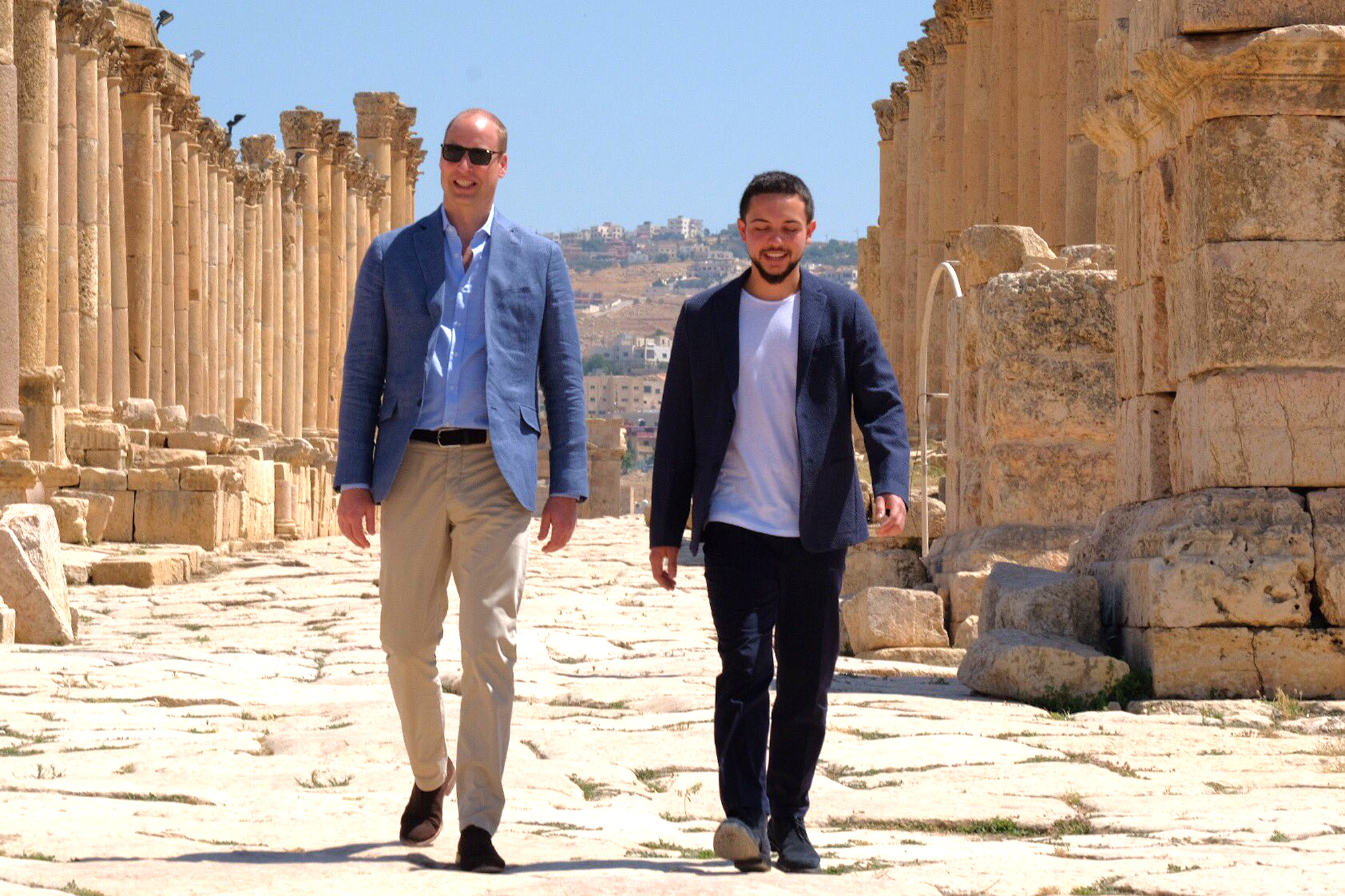 Prince William Middle East Tour, Amman, Jordan  - 25 Jun 2018
