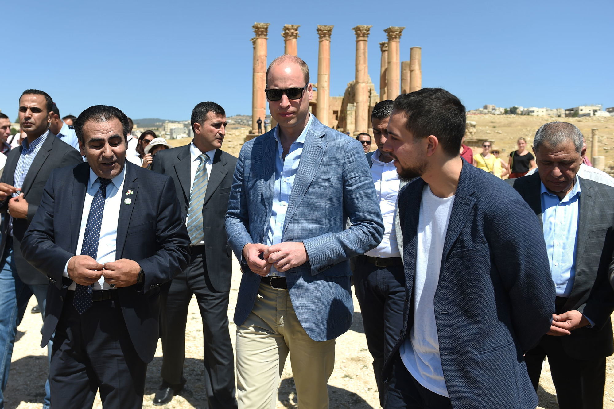 Duke of Cambridge Middle East tour Day 2