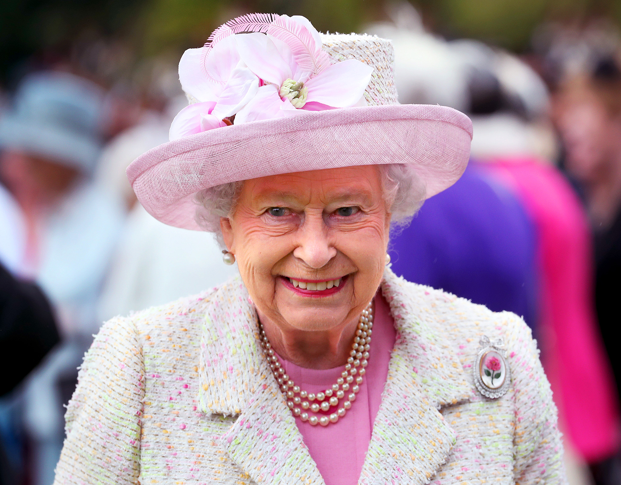 Queen Elizabeth II Hosts Garden Party At The Palace Of Holyroodhouse