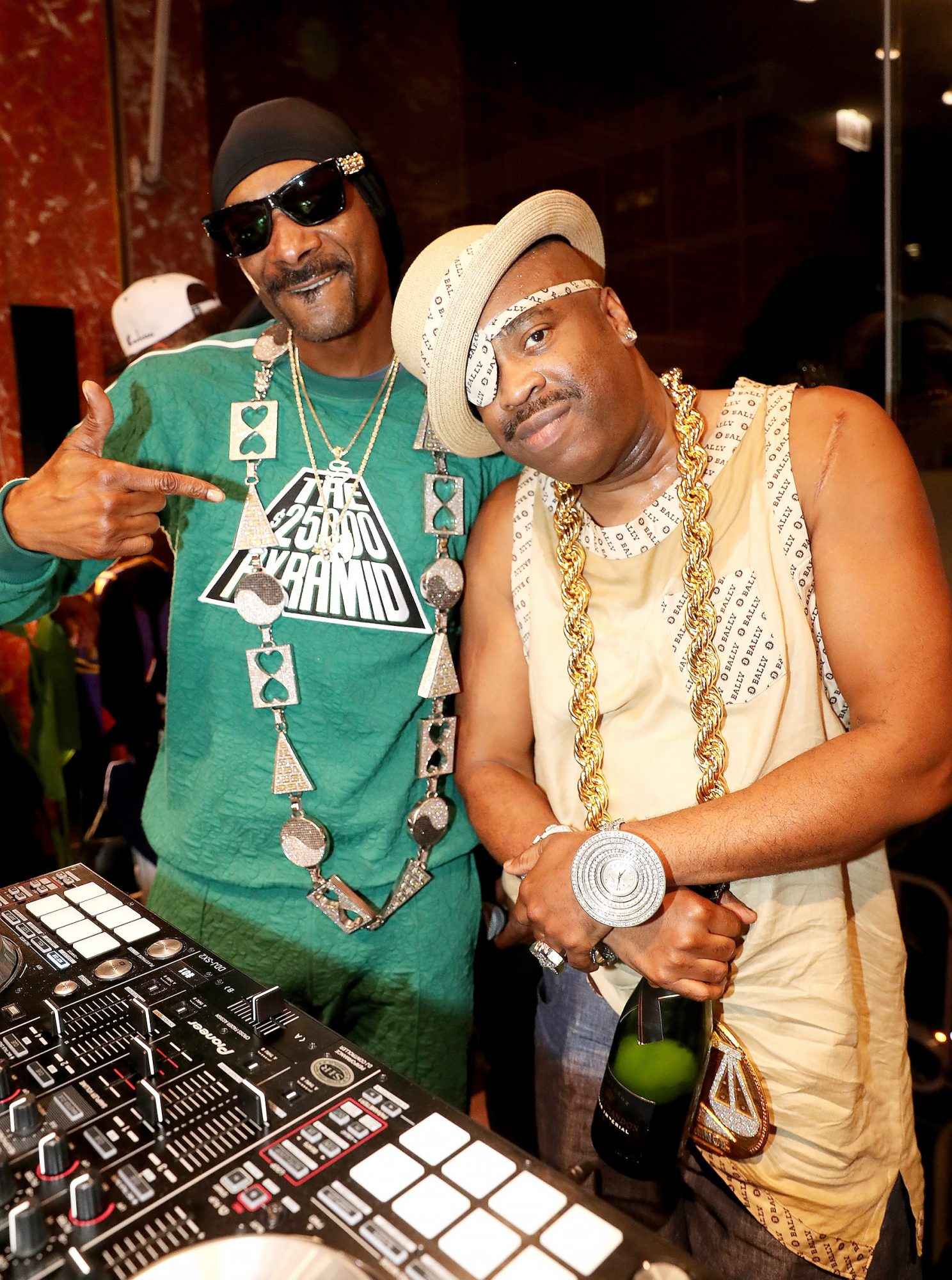 "Bally x Slick Rick ""Celebrate The 30th Anniversary Of The Great Adventures Of Slick Rick"""