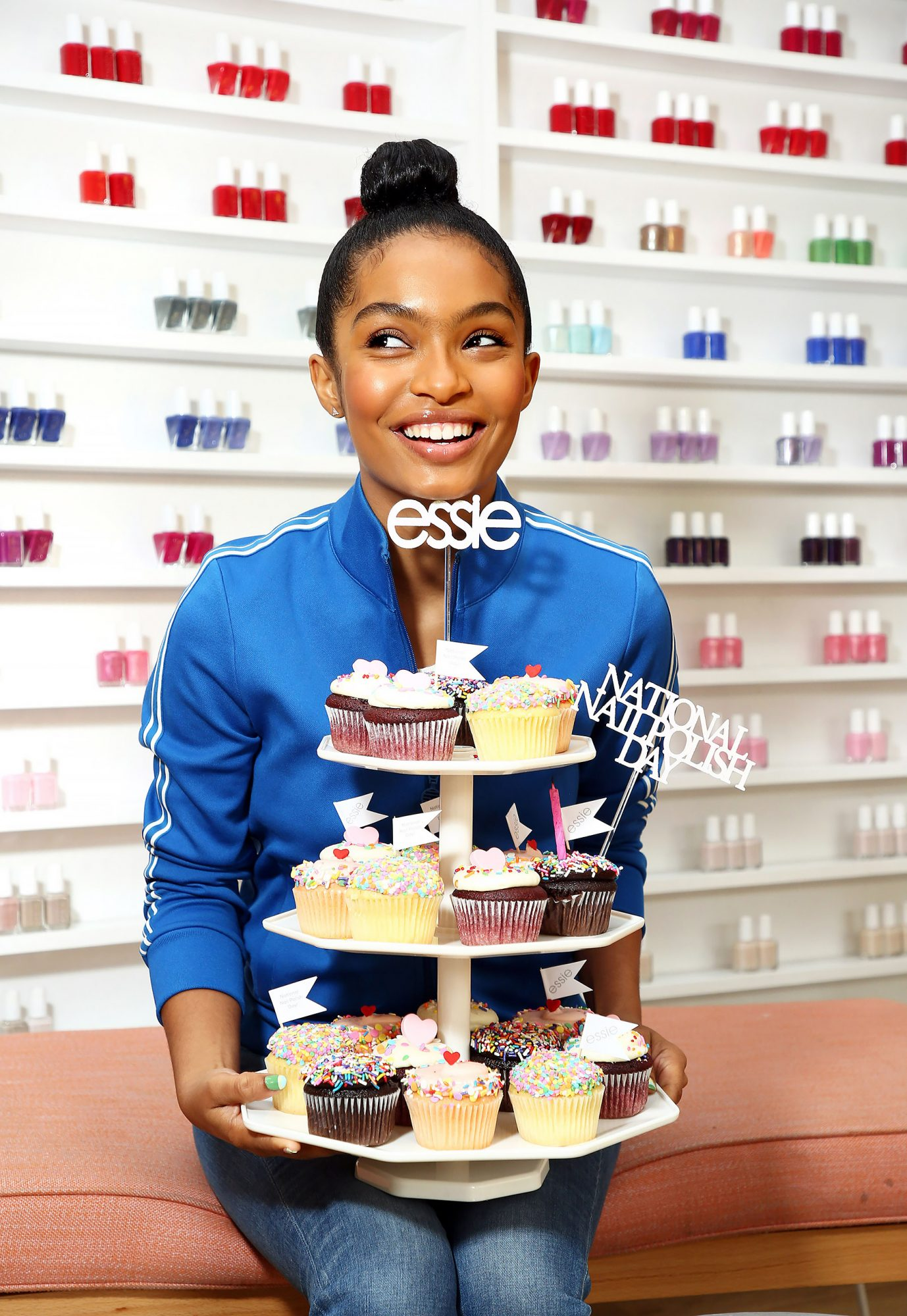 Yara Shahidi Sports a Fresh essie Manicure to Celebrate National Nail Polish Day