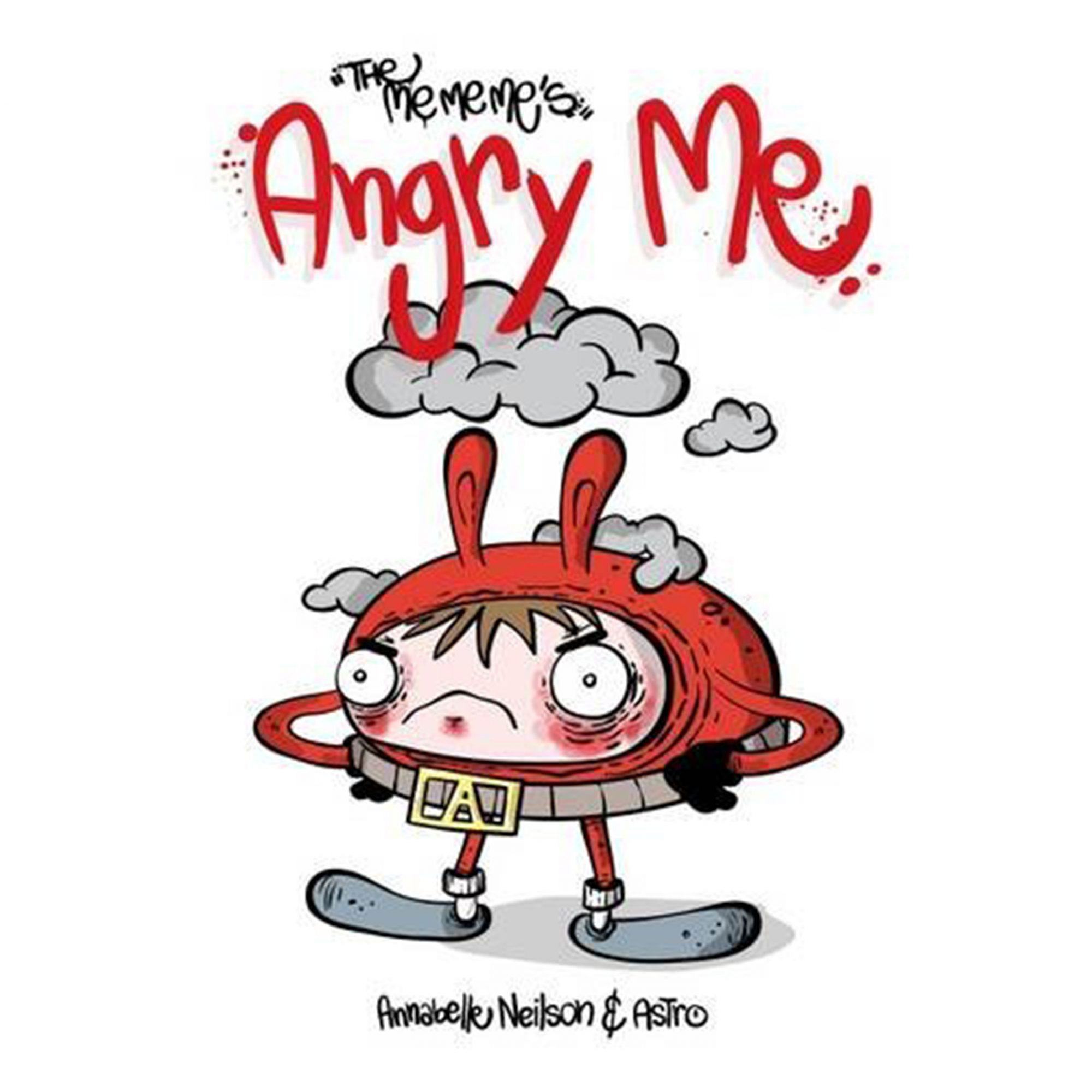 The Me Me Me's: Angry Me Anabelle Neilson life in photosCredit: Amazon