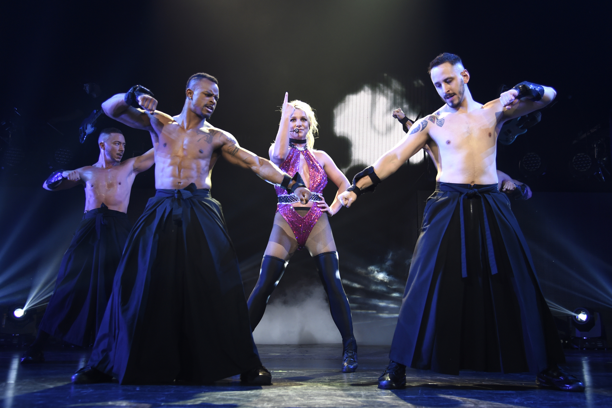 """Britney Spears """"Piece of Me"""" Summer Tour Opener - National Harbor"""
