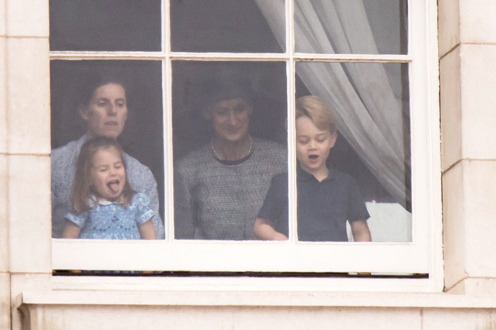 Prince George And Princess Charlotte Spotted