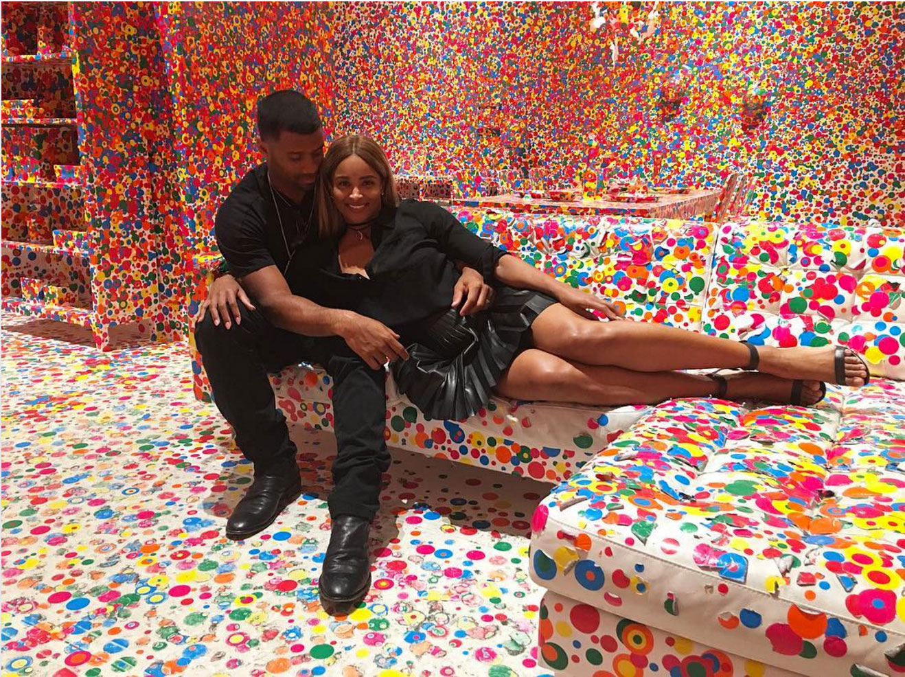 Russell Wilson Shut Down a Museum for Ciara