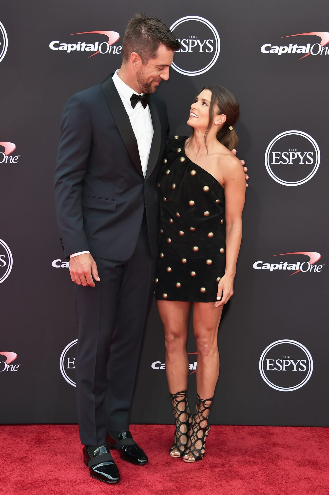 Aaron Rodgers On Danica Patrick We Re Really Into Each Other People Com