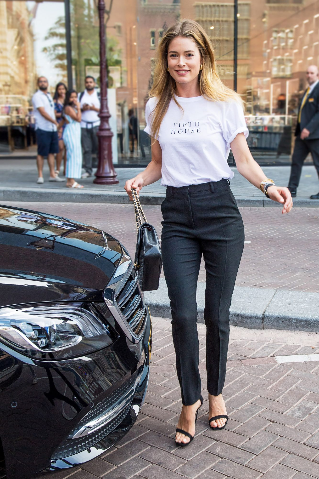 Doutzen Kroes out and about, Amsterdam, The Netherlands - 19 Jul 2018