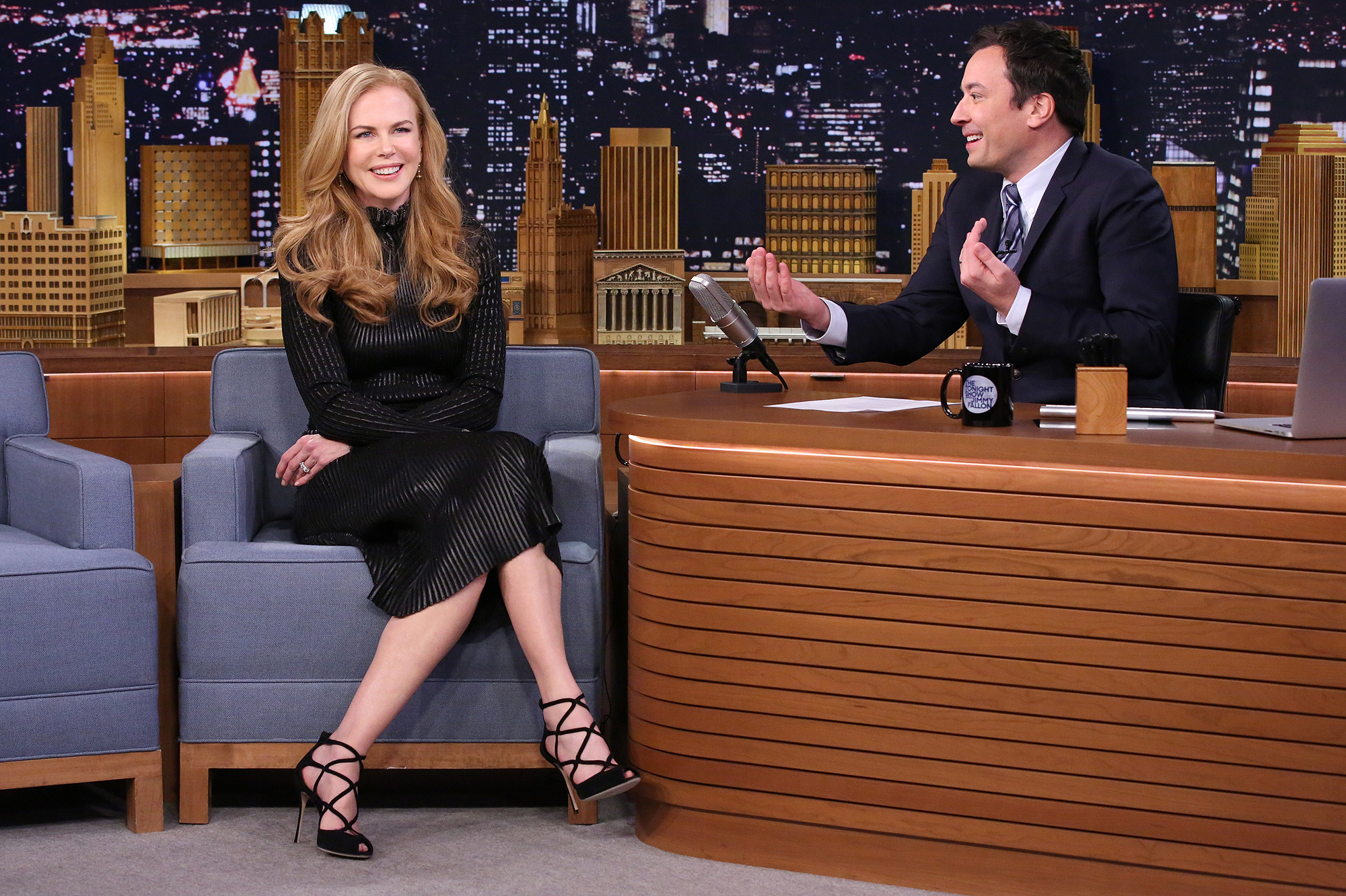 WHEN NICOLE KIDMAN DIDN'T TELL JIMMY FALLON THEY WERE ON A DATE