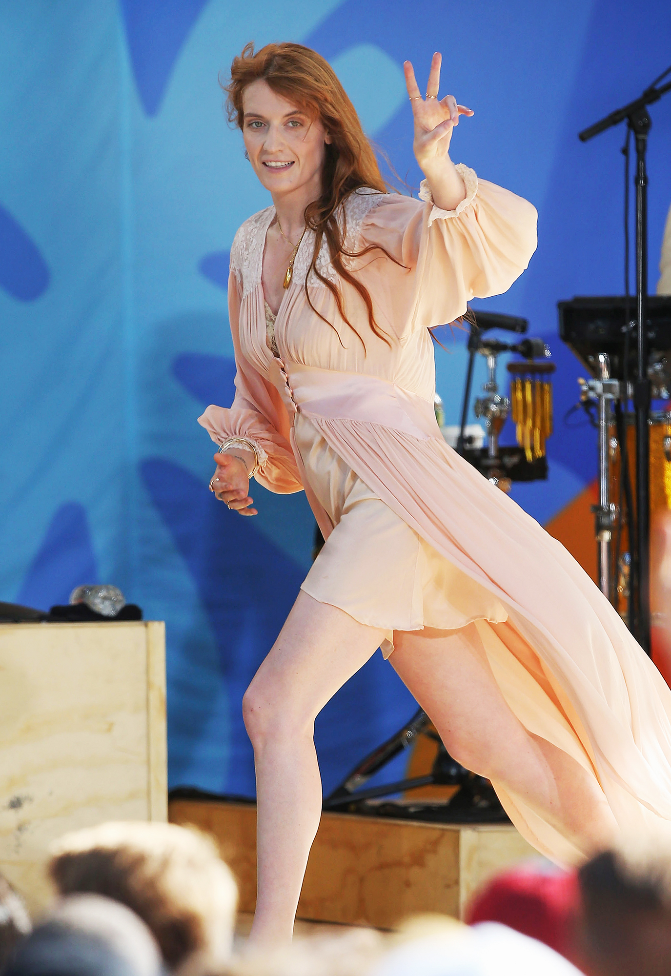 "Florence + The Machine Performs On ABC's ""Good Morning America"""