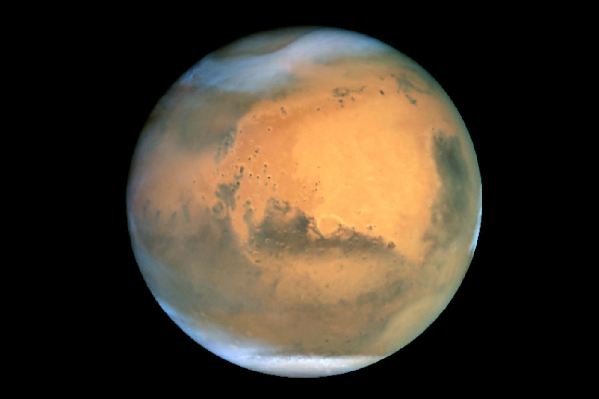 Telescope Captures Sharpest Image of Mars