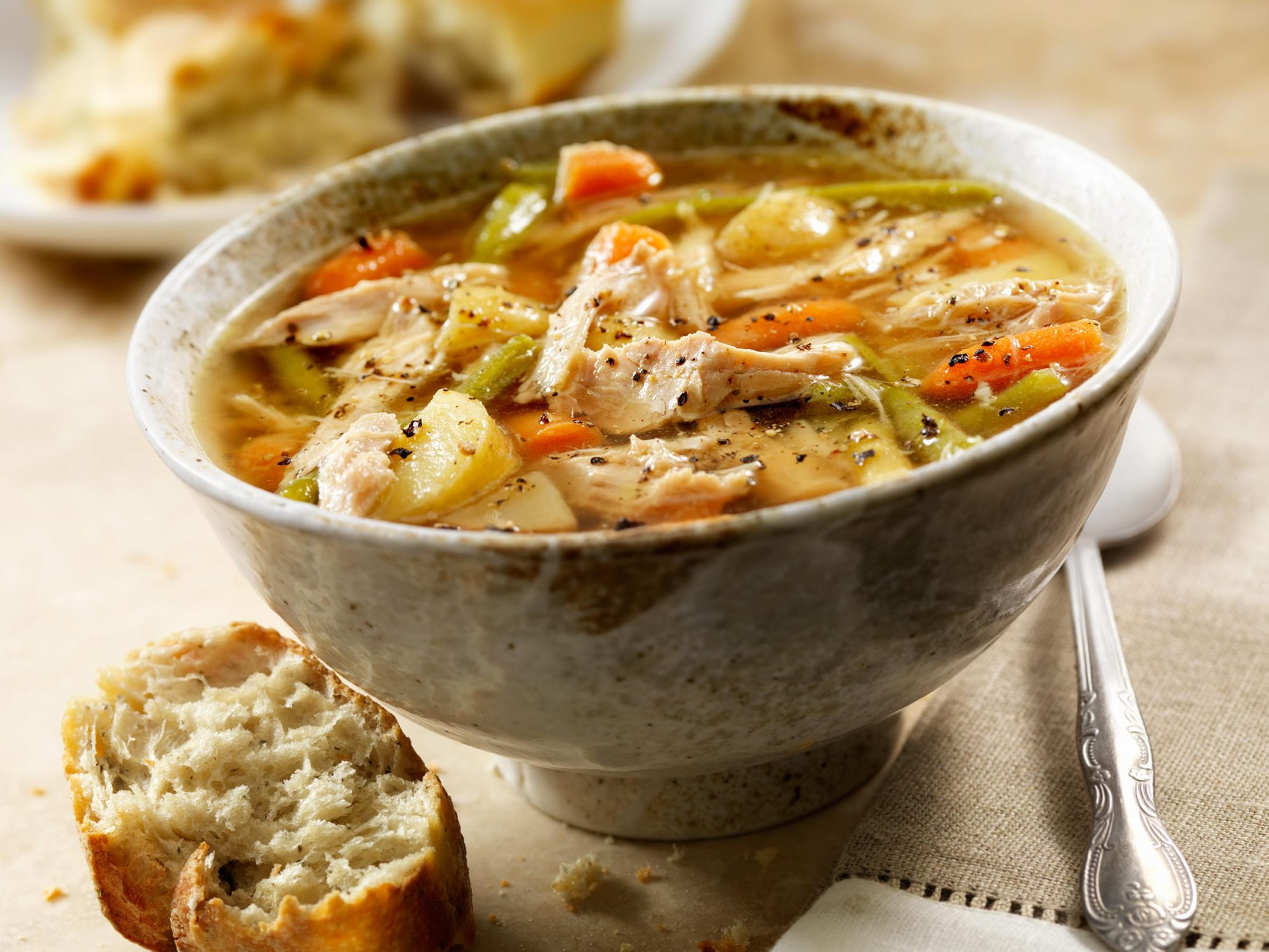 Homemade Turkey Soup