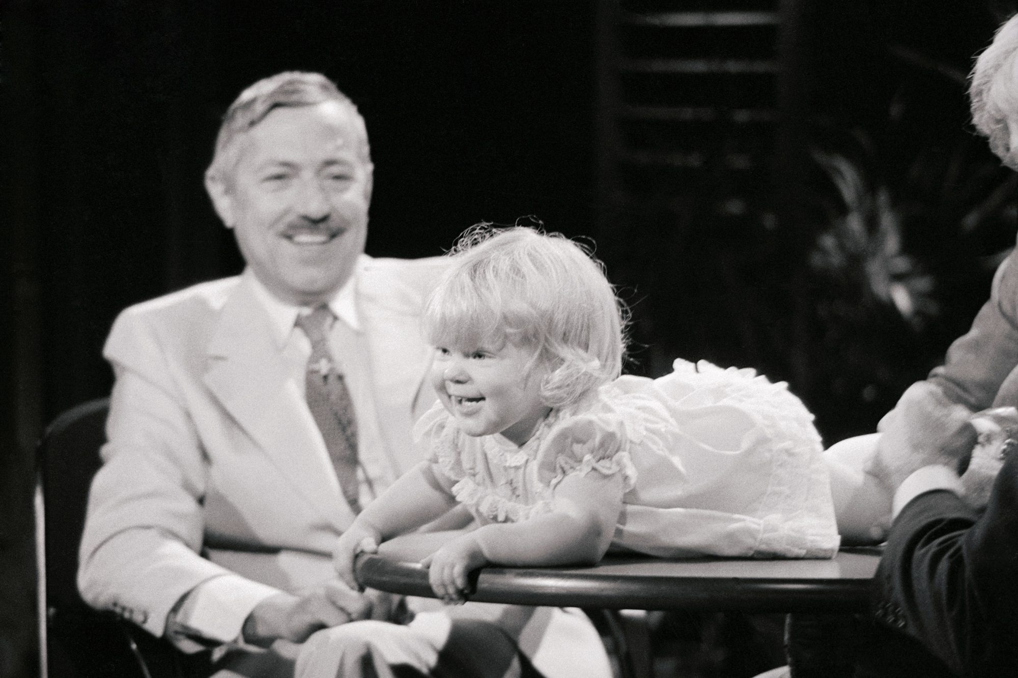 Pierre Soupart and Louise Brown Appearing on The Phil Donahue Show