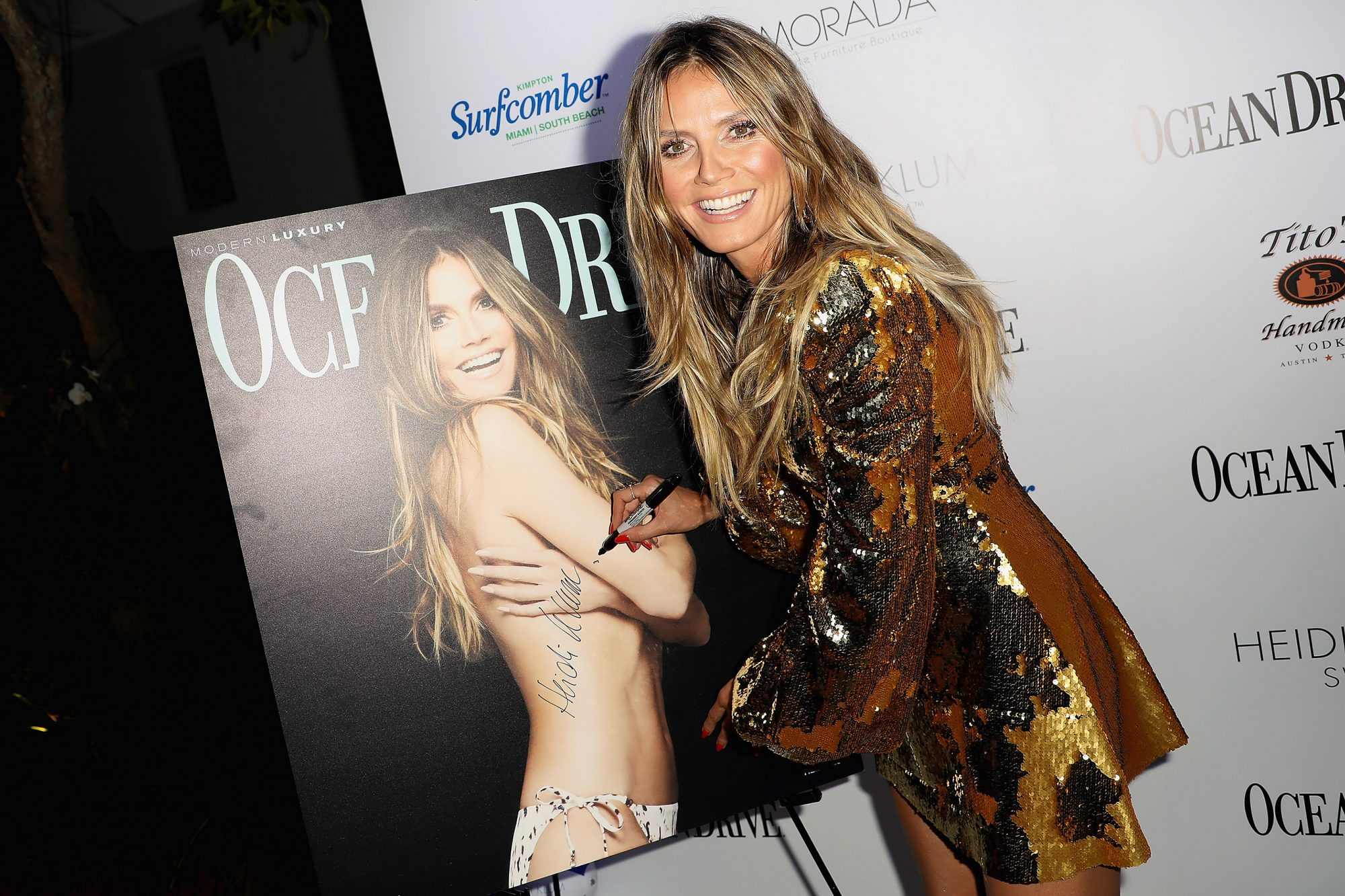 Ocean Drive's Magazine's 25th Anniversary Swimsuit Issue Celebration