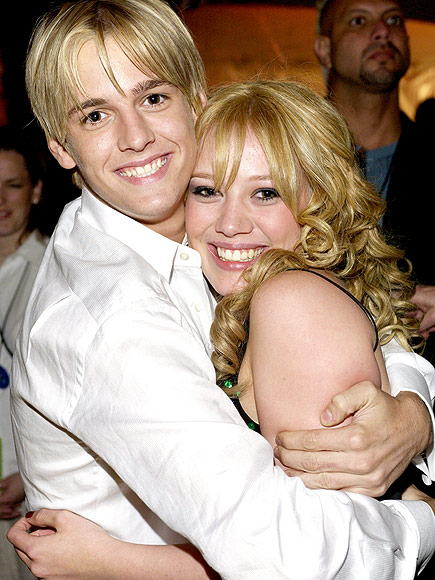 AARON CARTER ON HILARY DUFF