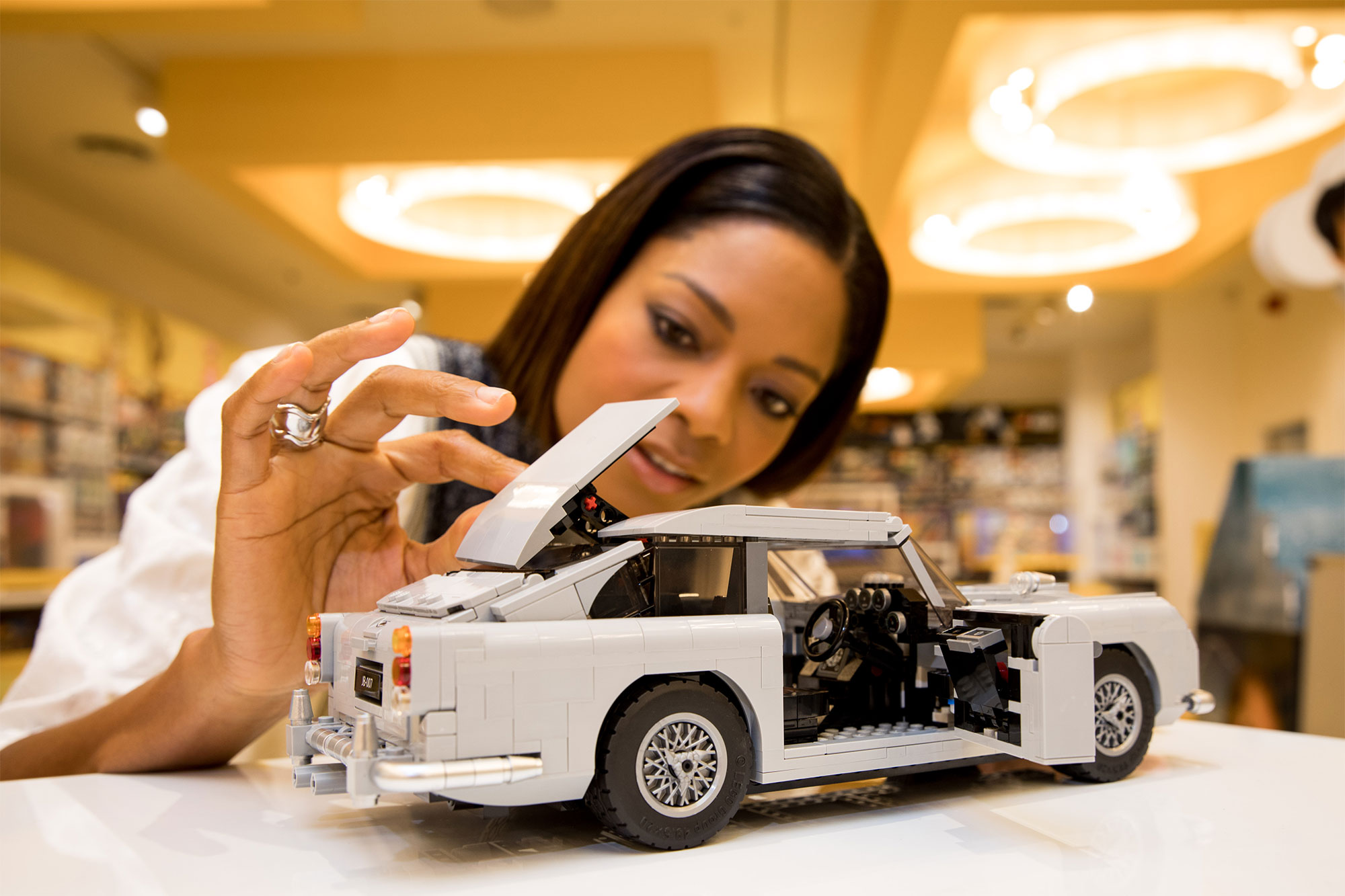 New LEGO® James Bond™ Aston Martin DB5, London, UK, 18th July 2018