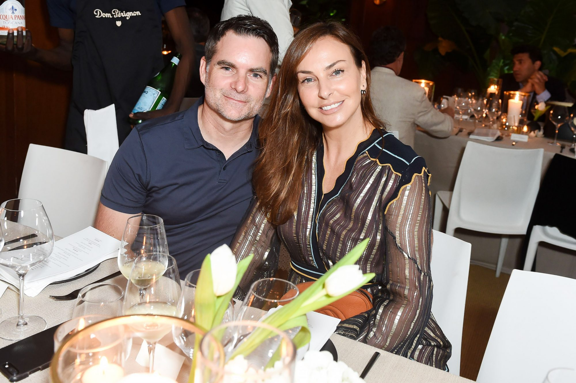 Dom Perignon dinner at Moby's, New York, USA - 14 Jul 2018