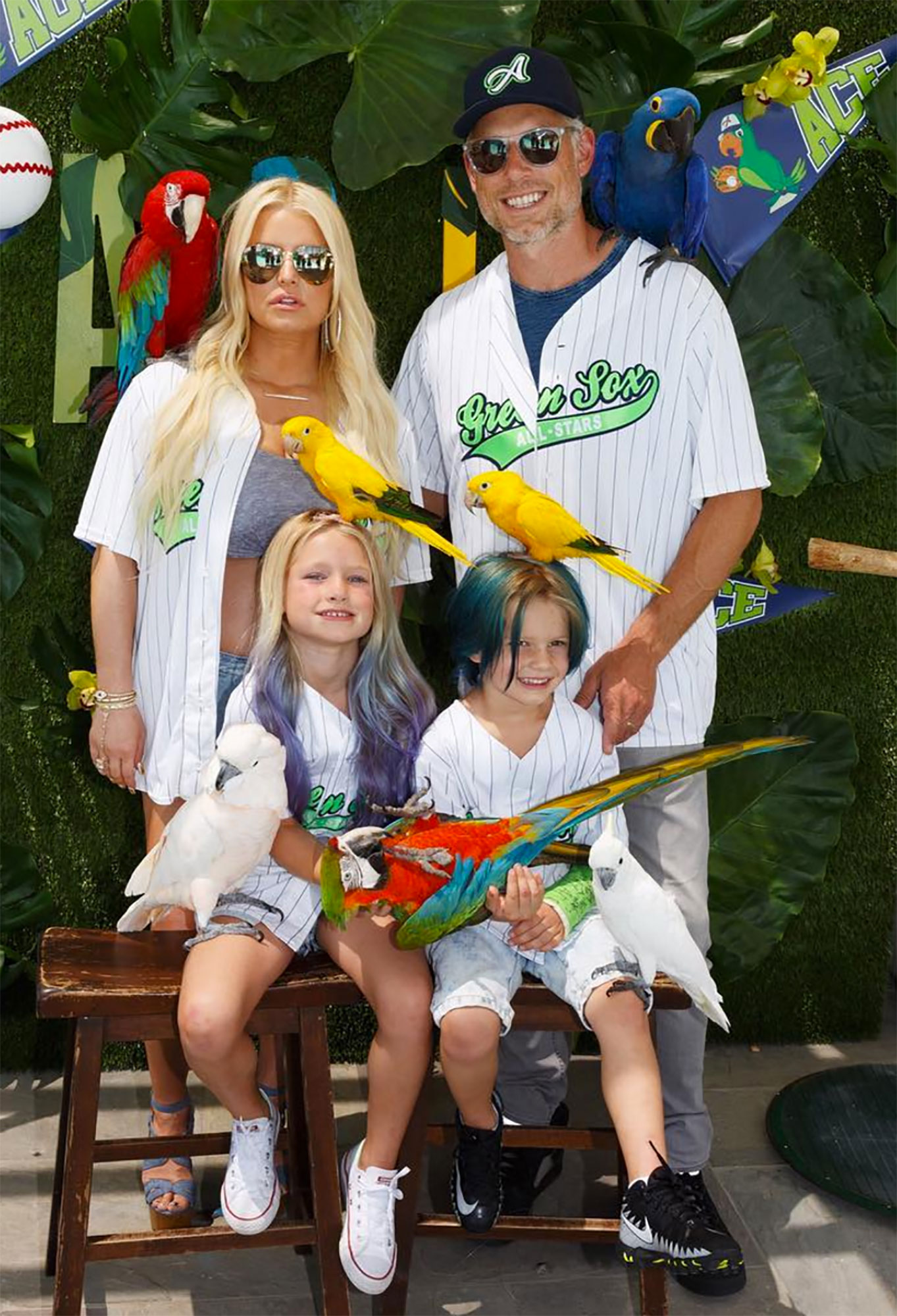 ACE KNUTE'S 'BASEBALL AND PARROT' BASH