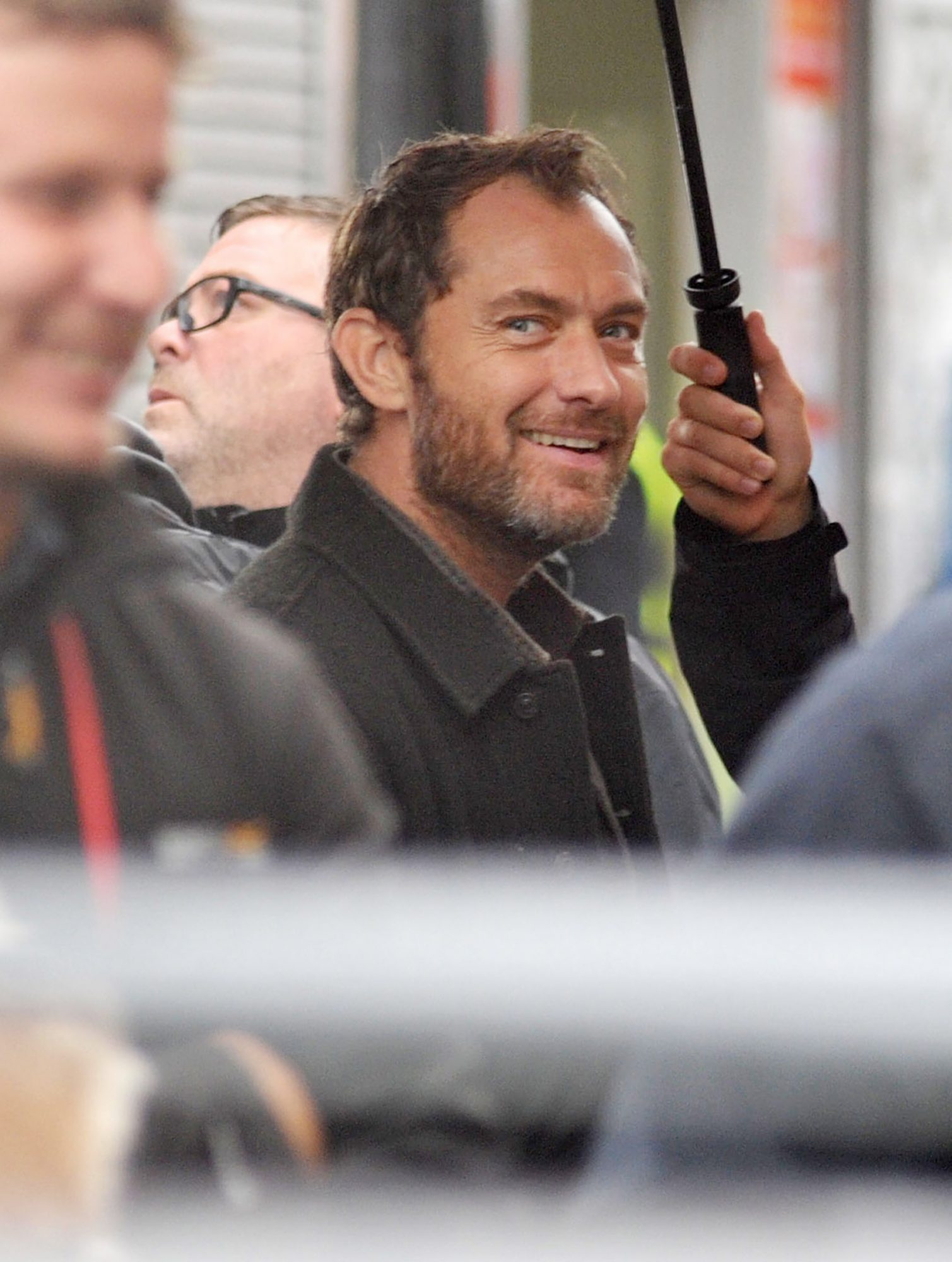Jude Law Joins Blake Lively On the Set Of The Rhythm Section In Dublin