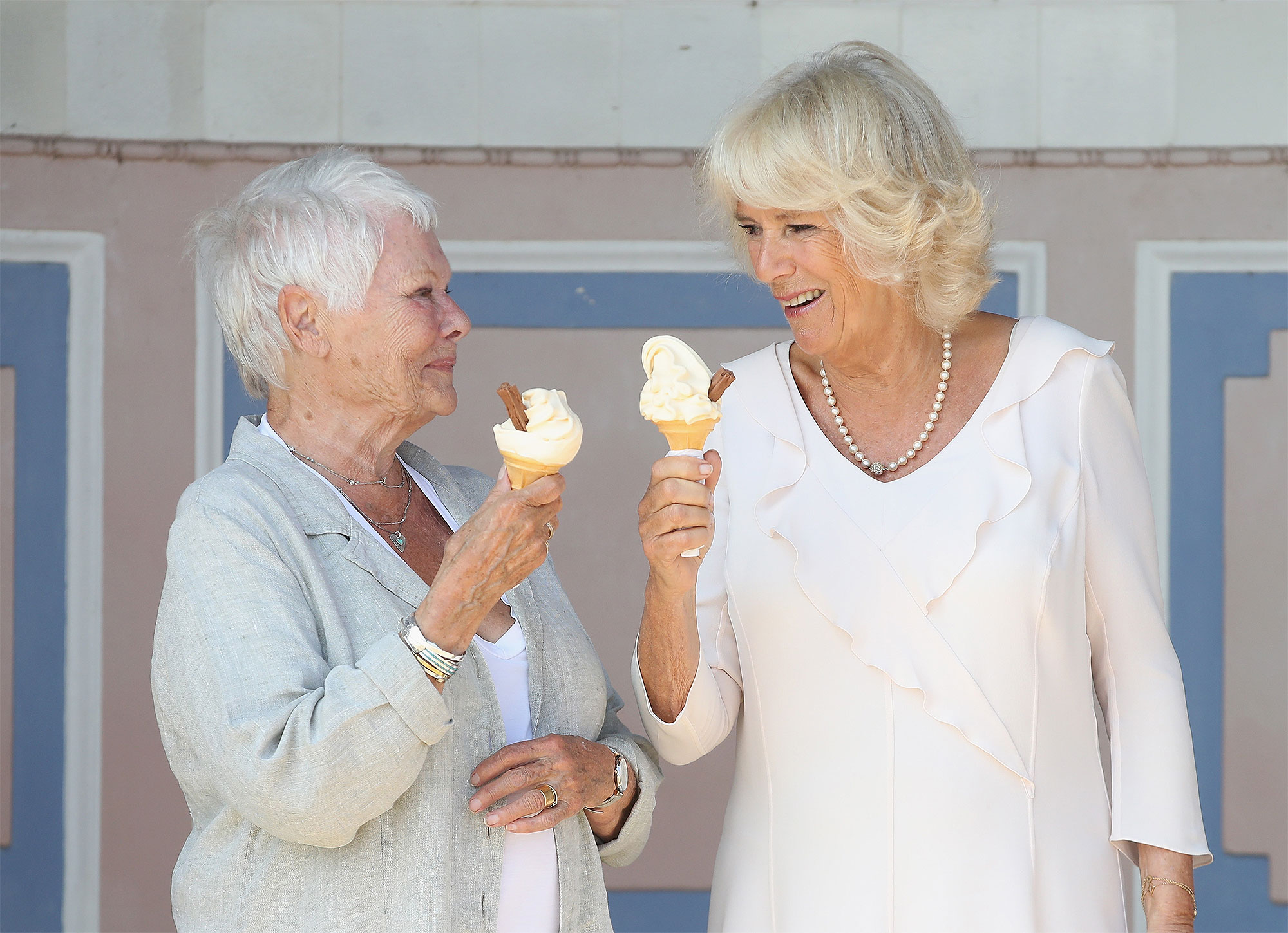 The Duchess Of Cornwall Visits The Isle Of Wight