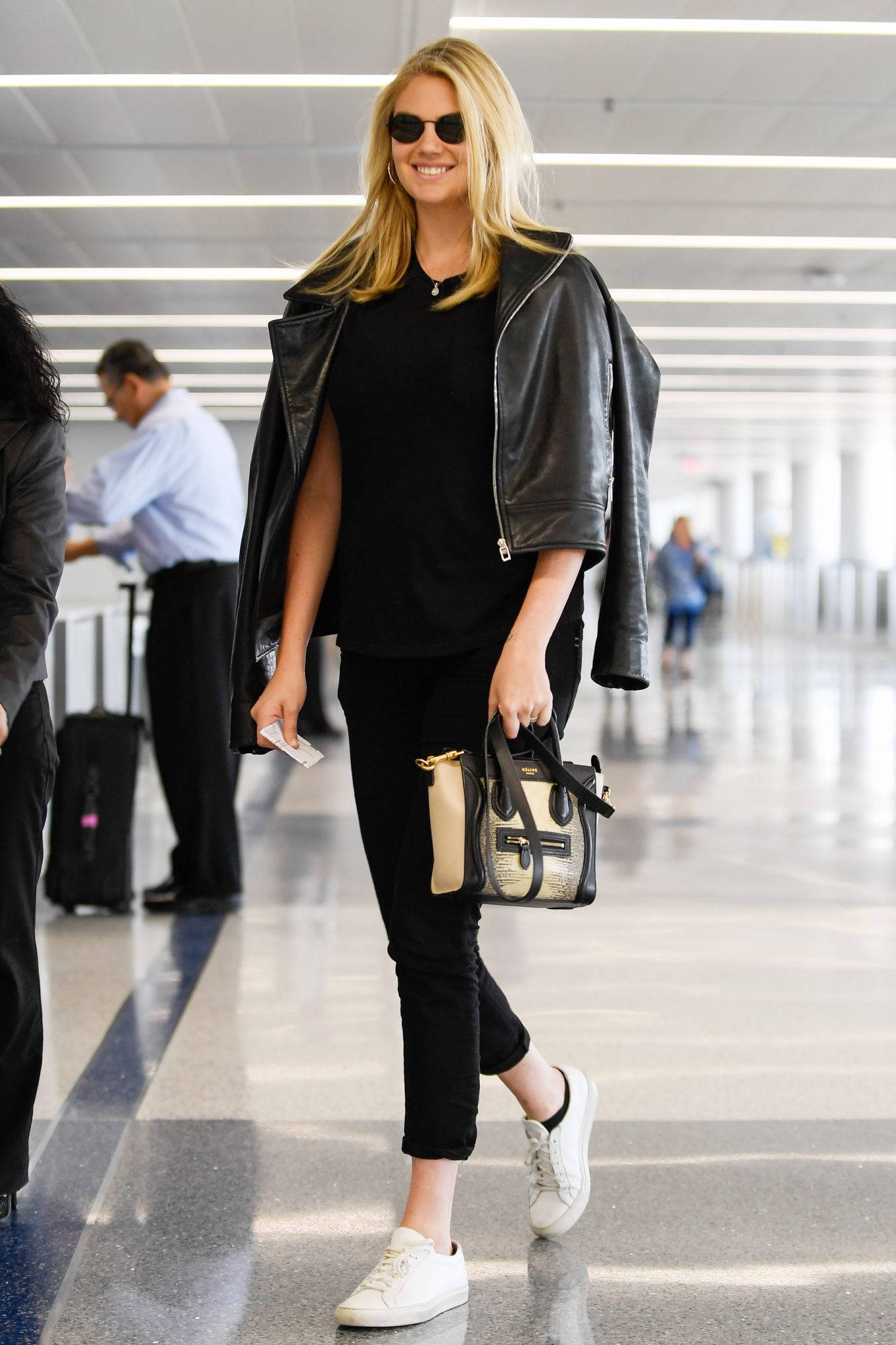 EXCLUSIVE: Kate Upton departs from LAX