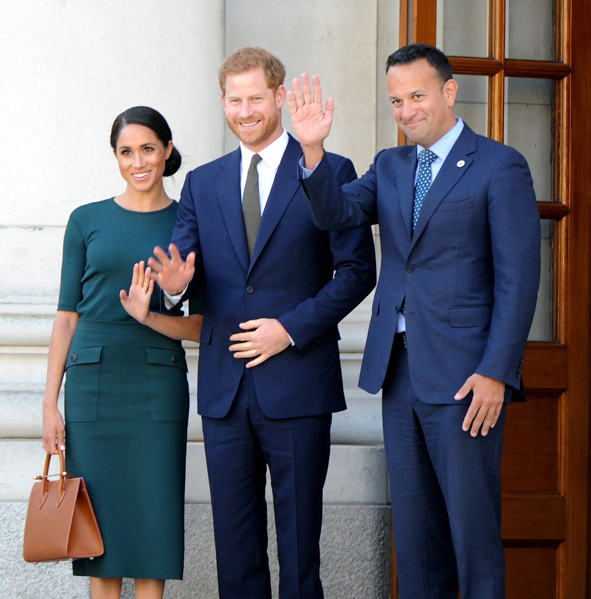 Duke and Duchess of Sussex visit, Dublin, Ireland - 10 Jul 2018