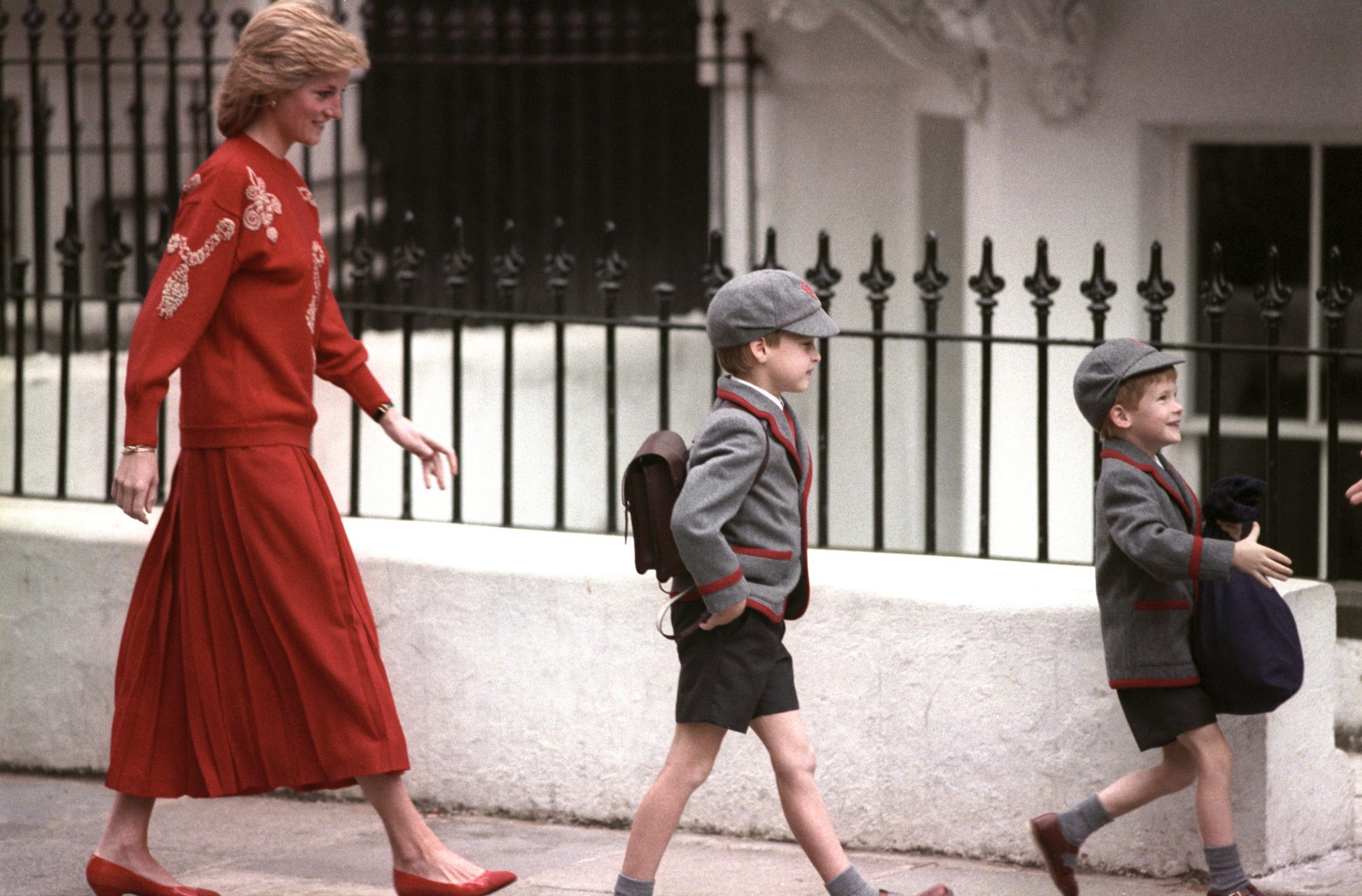 Royalty - Prince Harry at Wetherby School - Notting Hill, London