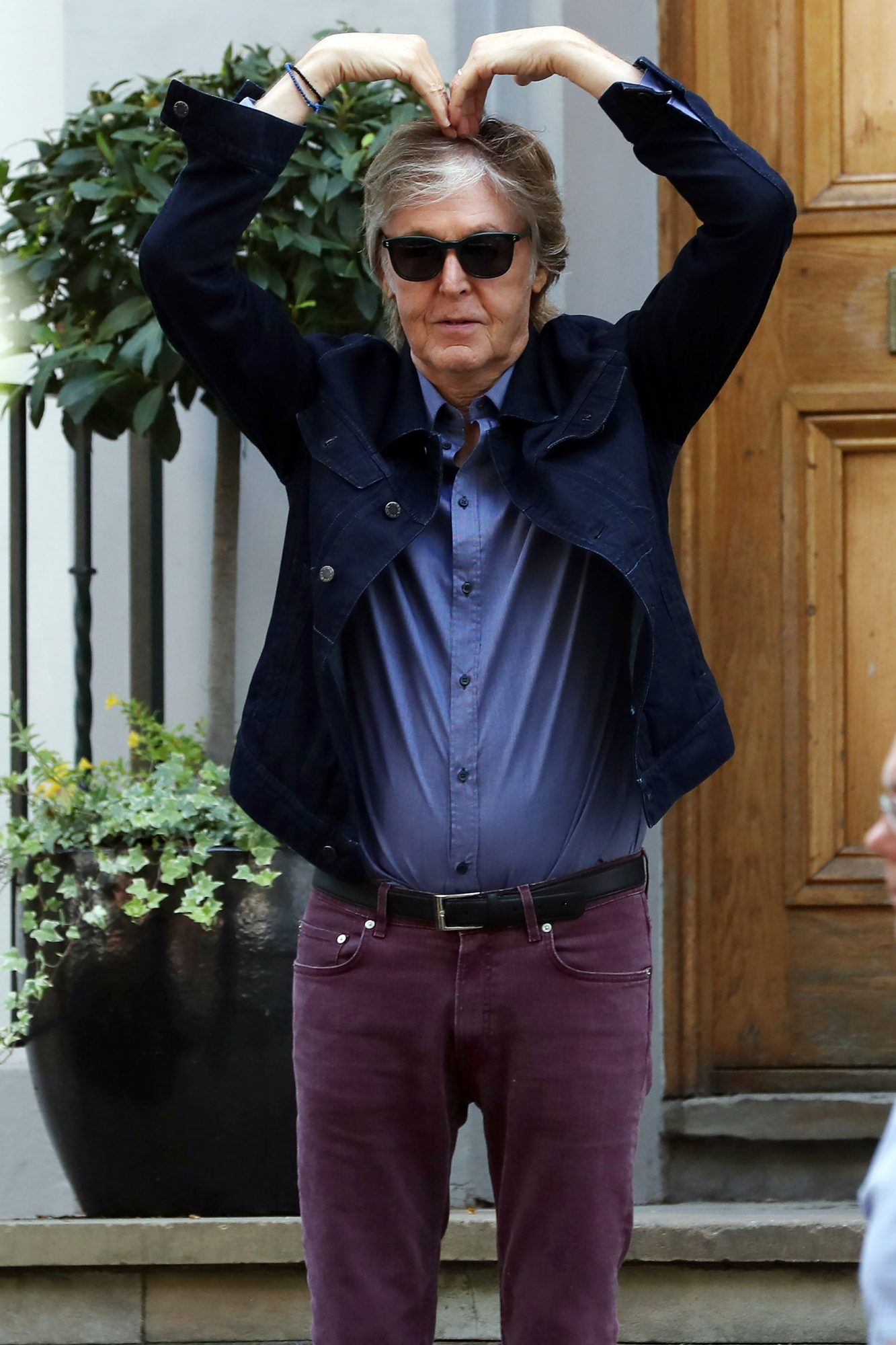 Paul McCartney and Nacy Shevell out and about, London, UK - 23 Jul 2018