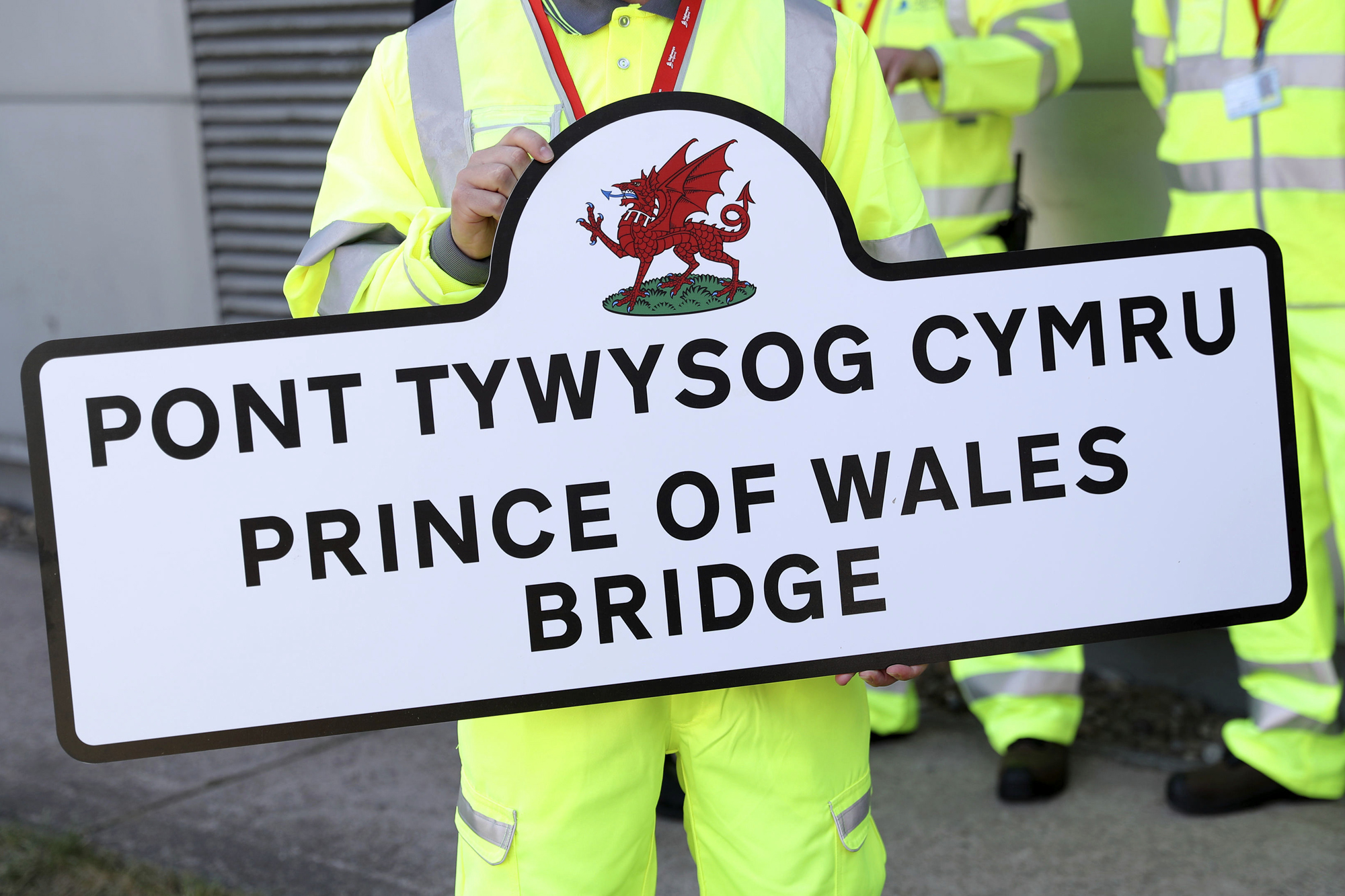 Prince of Wales tour of Wales - Day 1