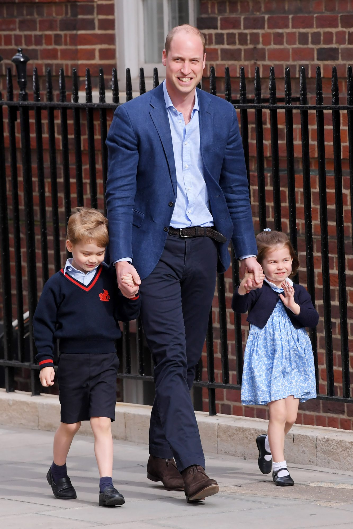 Catherine Duchess of Cambridge gives birth to her third child, Lindo Wing, St Mary's Hospital, London, UK - 23 Apr 2018