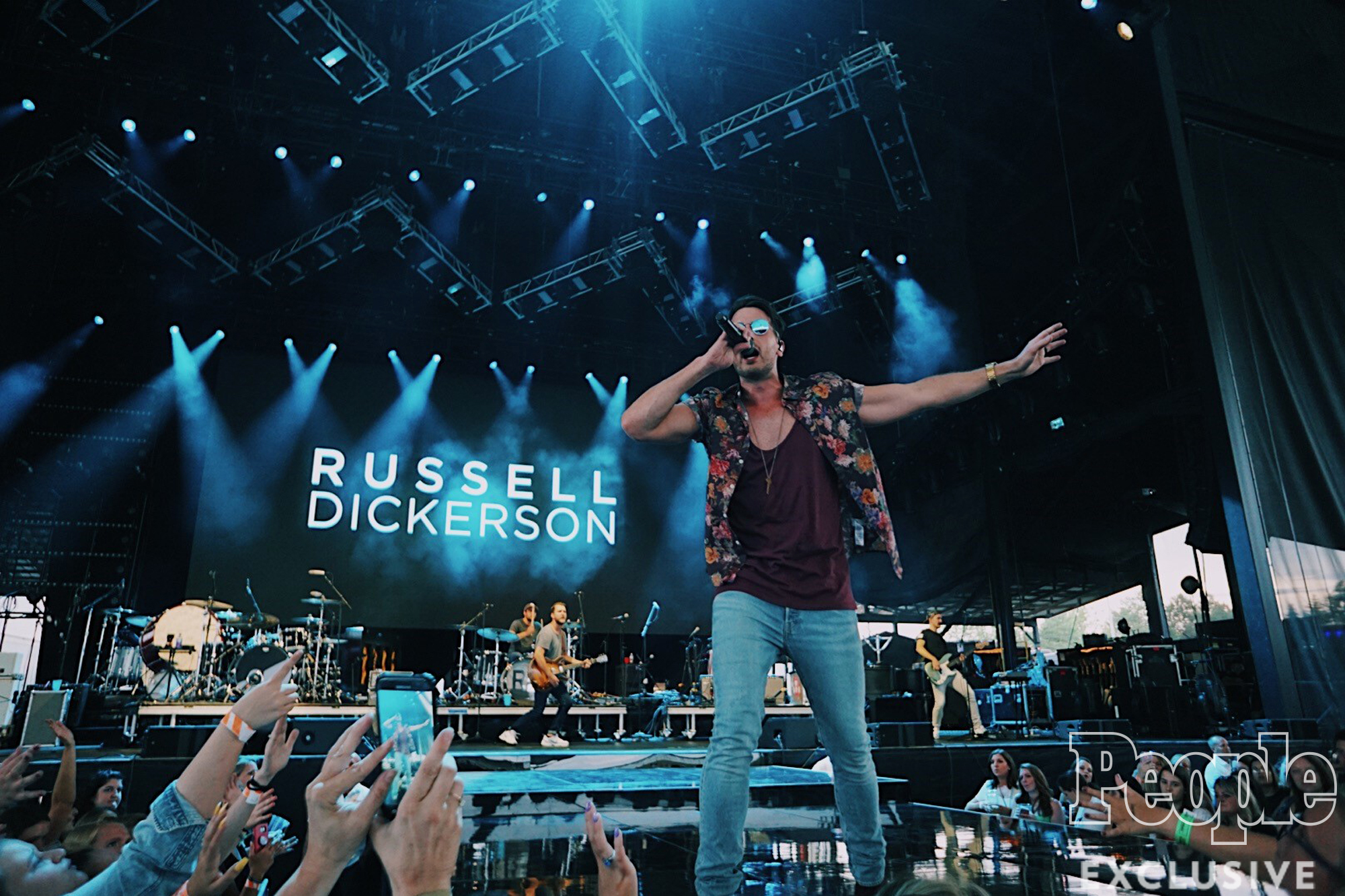 Russell Dickerson - credit is Kailey Dickeson