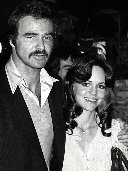 BURT REYNOLDS ON SALLY FIELD