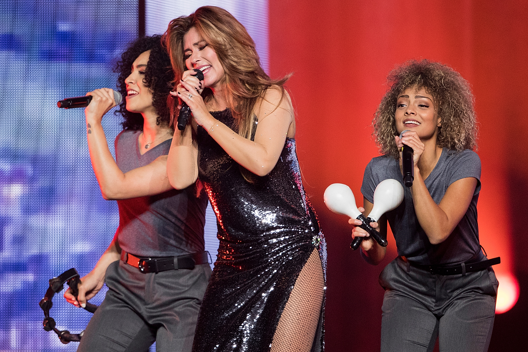 Shania Twain Performs At Rogers Arena