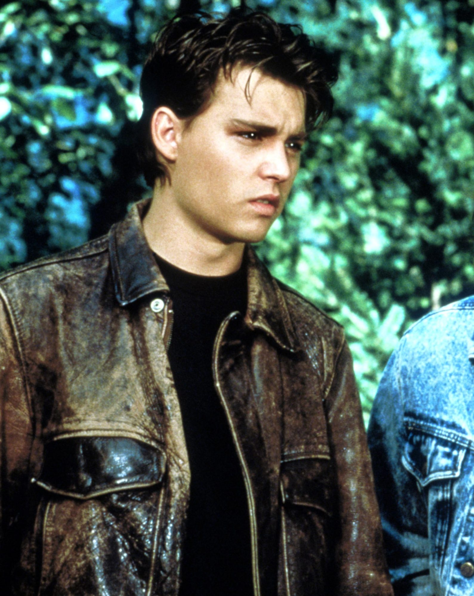 21 JUMP STREET, Johnny Depp, Peter DeLuise, 1987-91, © Stephen J. Cannell Productions / Courtesy: Ev
