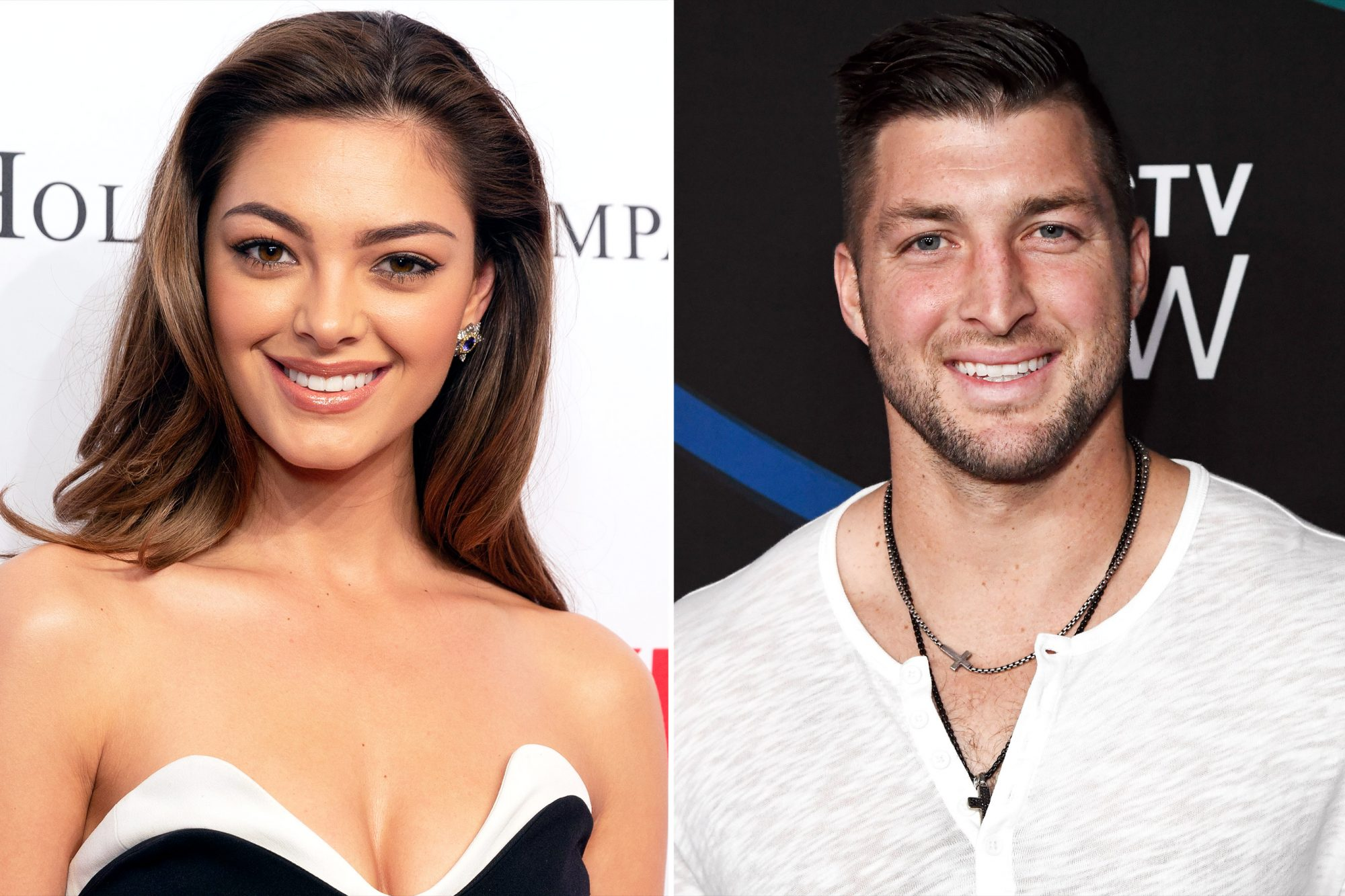 TIM TEBOW & DEMI-LEIGH NEL-PETERS